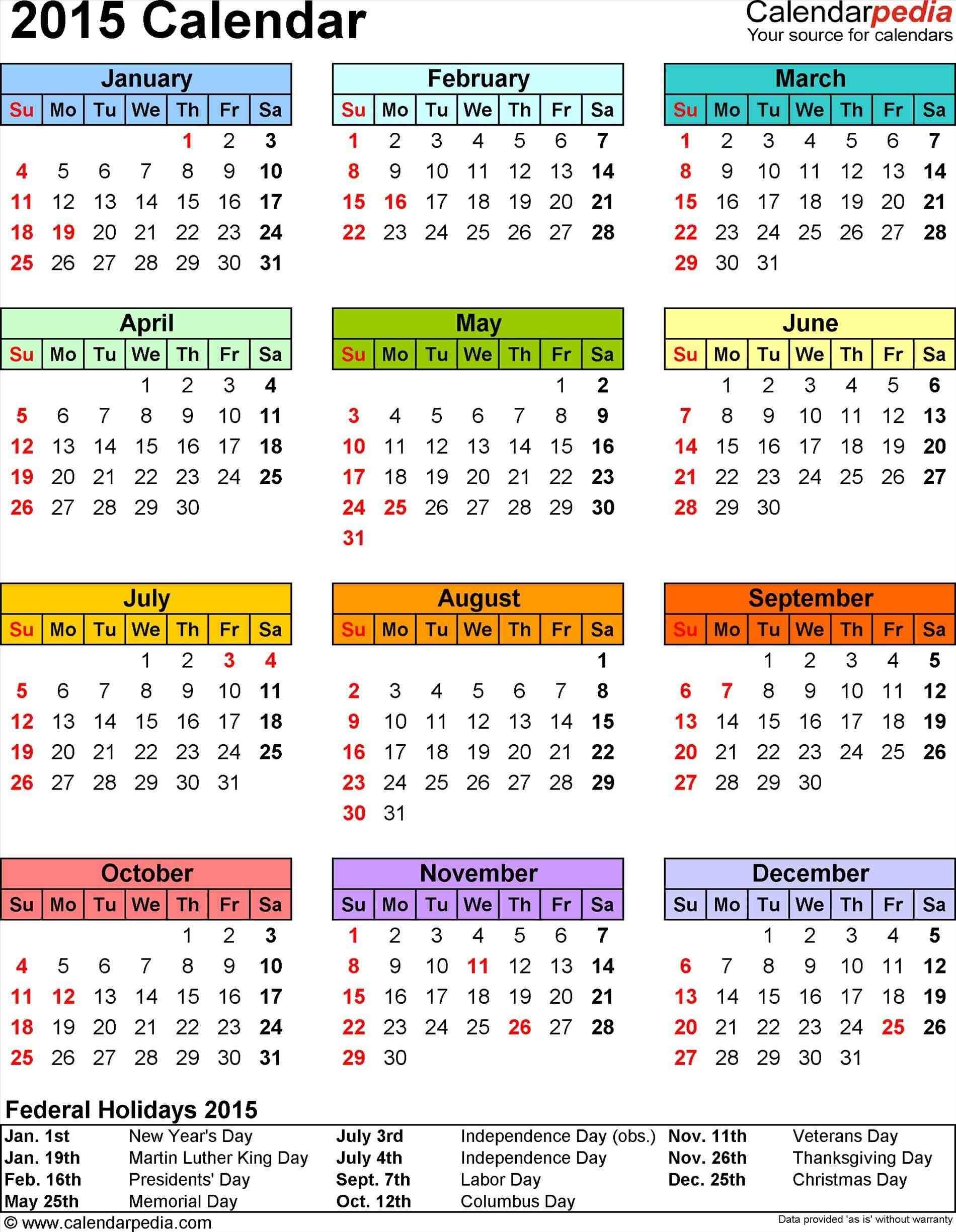 Quarterly Calendar Template 2015 Monfilmvideo