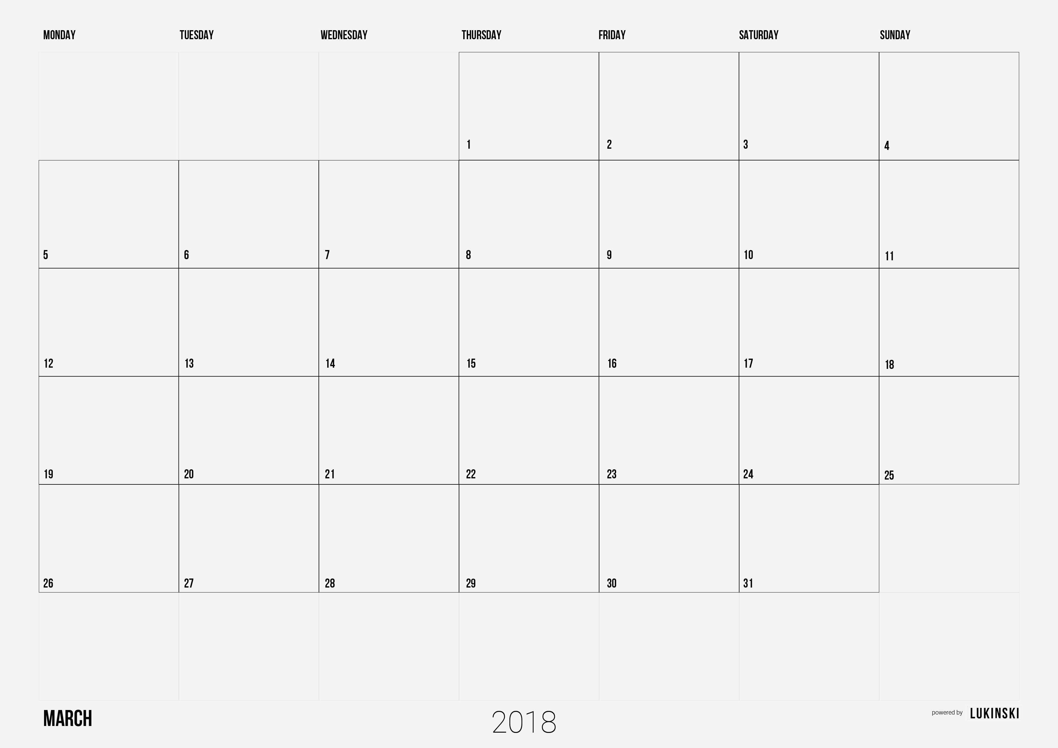 Calendar 2019 Free Download Recientes Awesome 2018 Monthly Calendar Template Of Calendar 2019 Free Download Más Arriba-a-fecha Beautiful 25 Examples Print A Calendar 2019