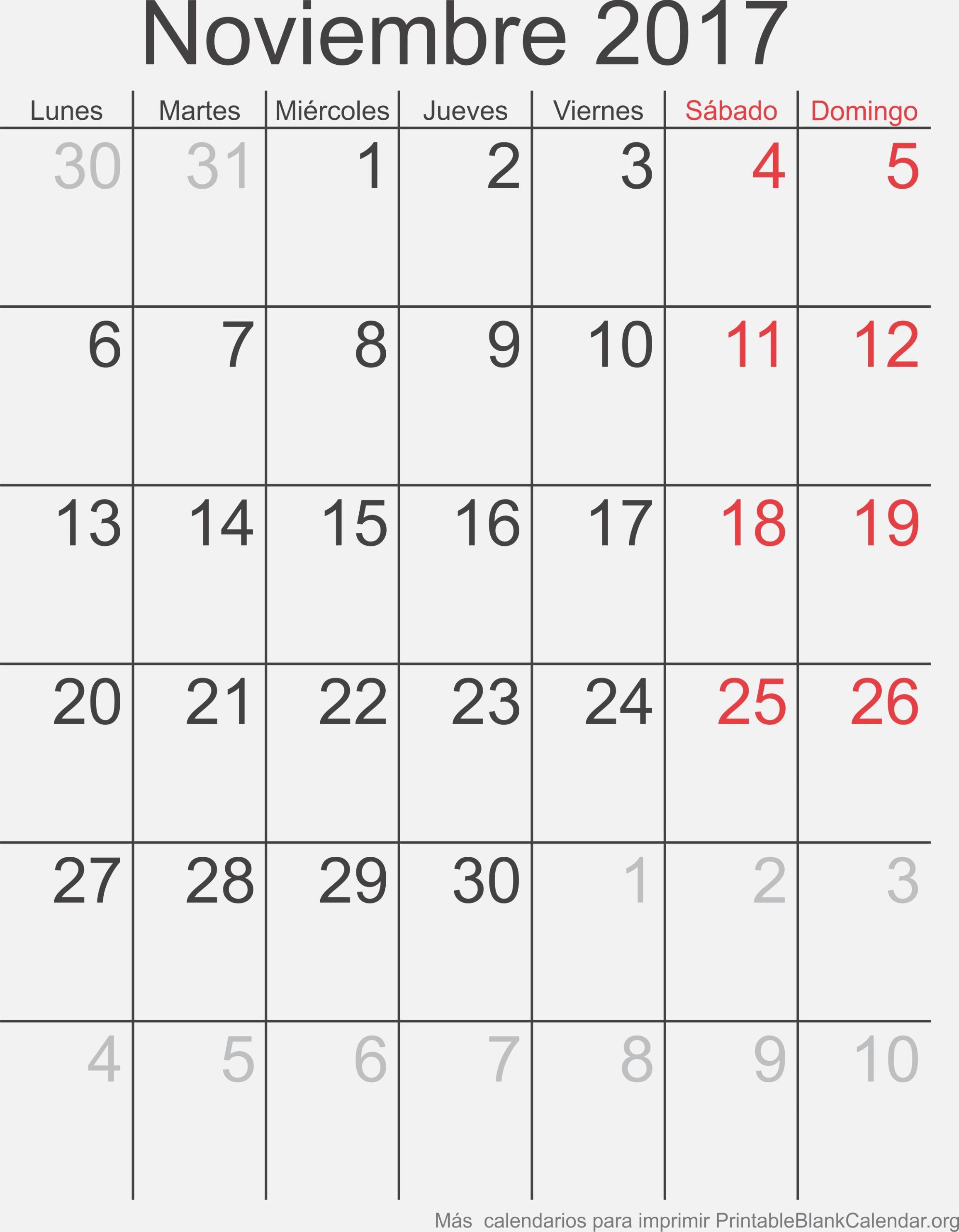 Noviembre 24 Calendario para Imprimir – Calendarios Para Imprimir