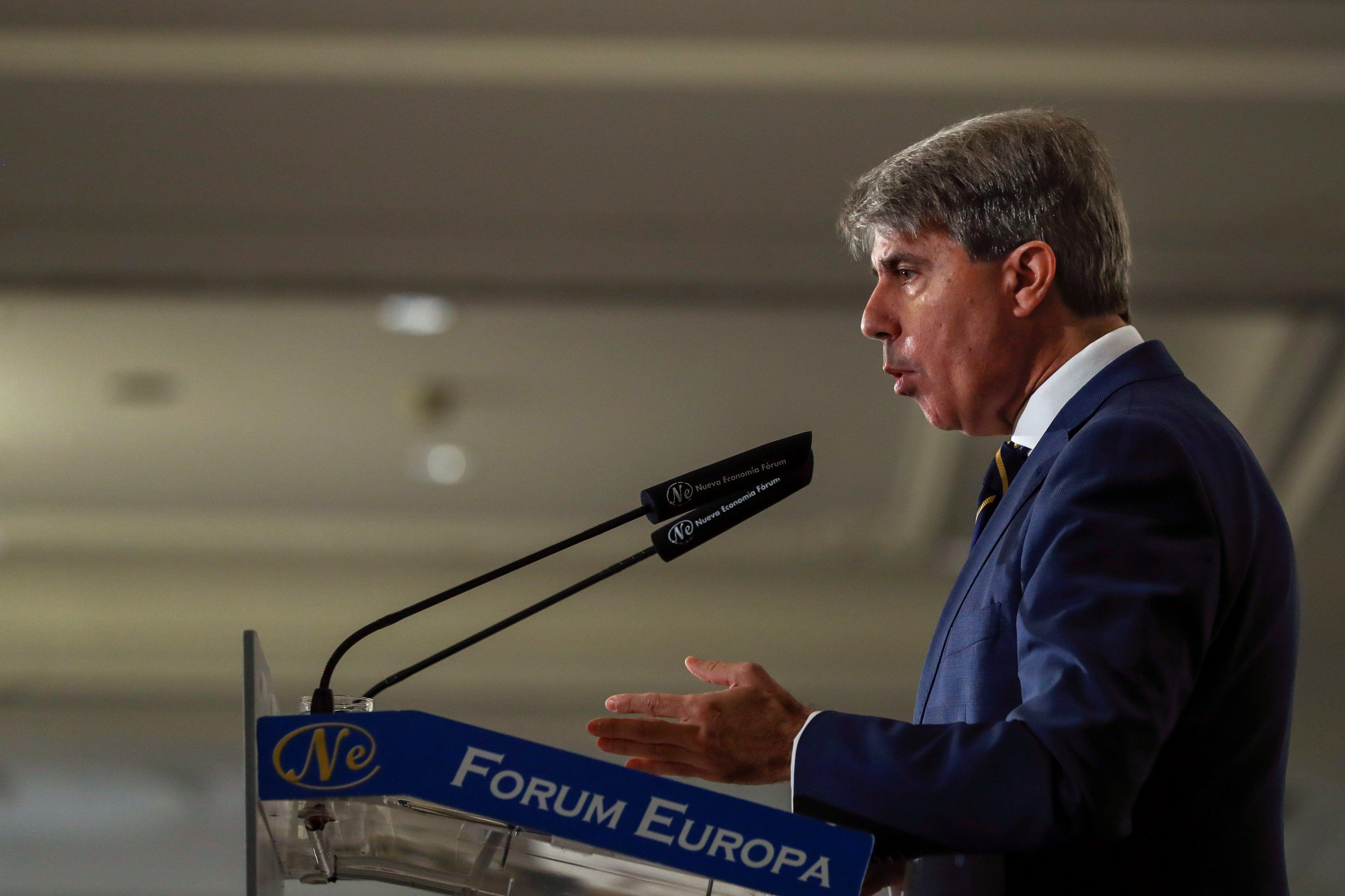 El presidente de la unidad de Madrid ngel Garrido en una imagen de archivo