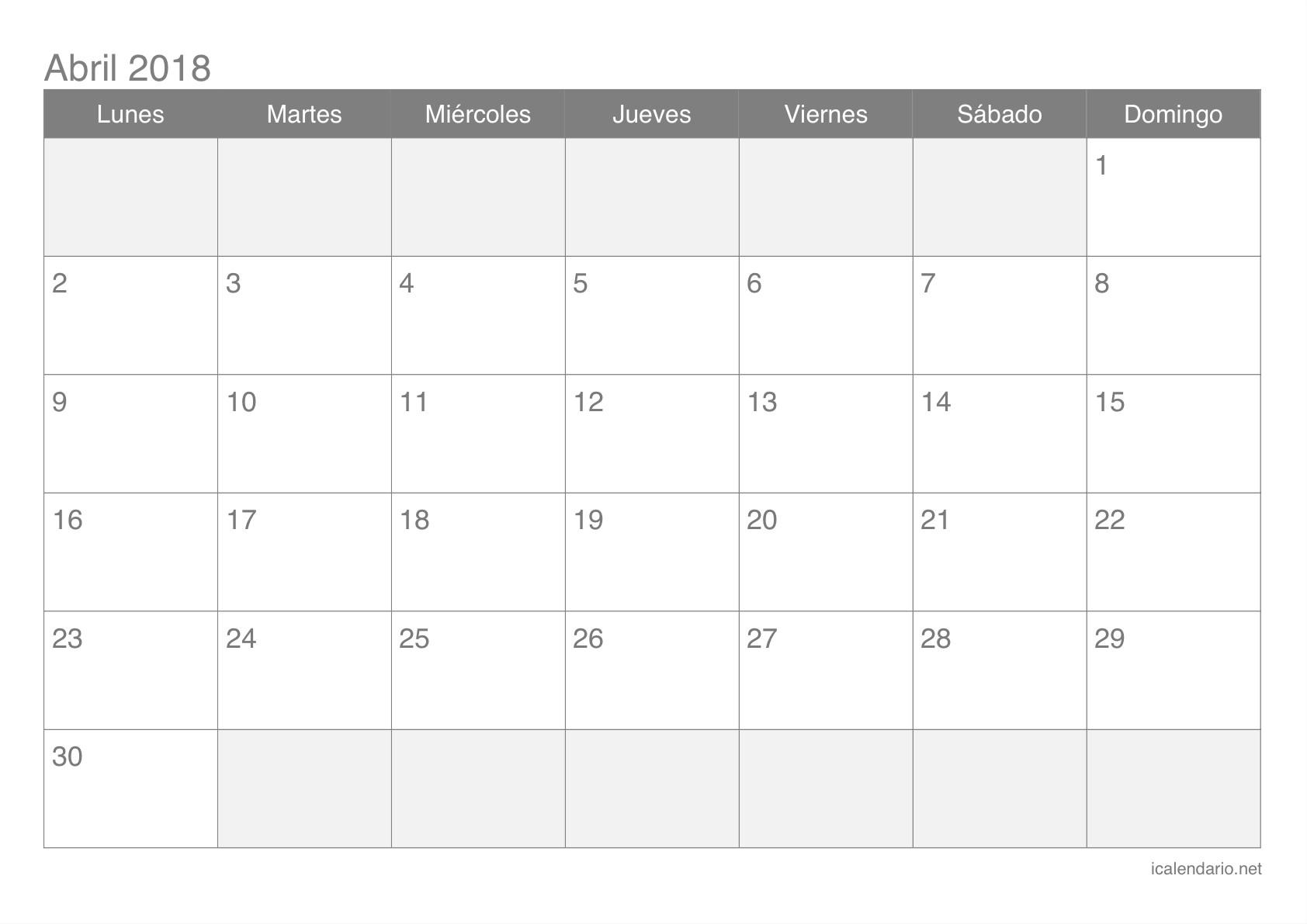 Calendario 2019 Chile Con Feriados Para Imprimir Pdf Más Populares Calendario Abril 2018 Para Imprimir Icalendario Of Calendario 2019 Chile Con Feriados Para Imprimir Pdf Actual Calendario 2018 9 Fondo Calendario May Blanco Csp Simple