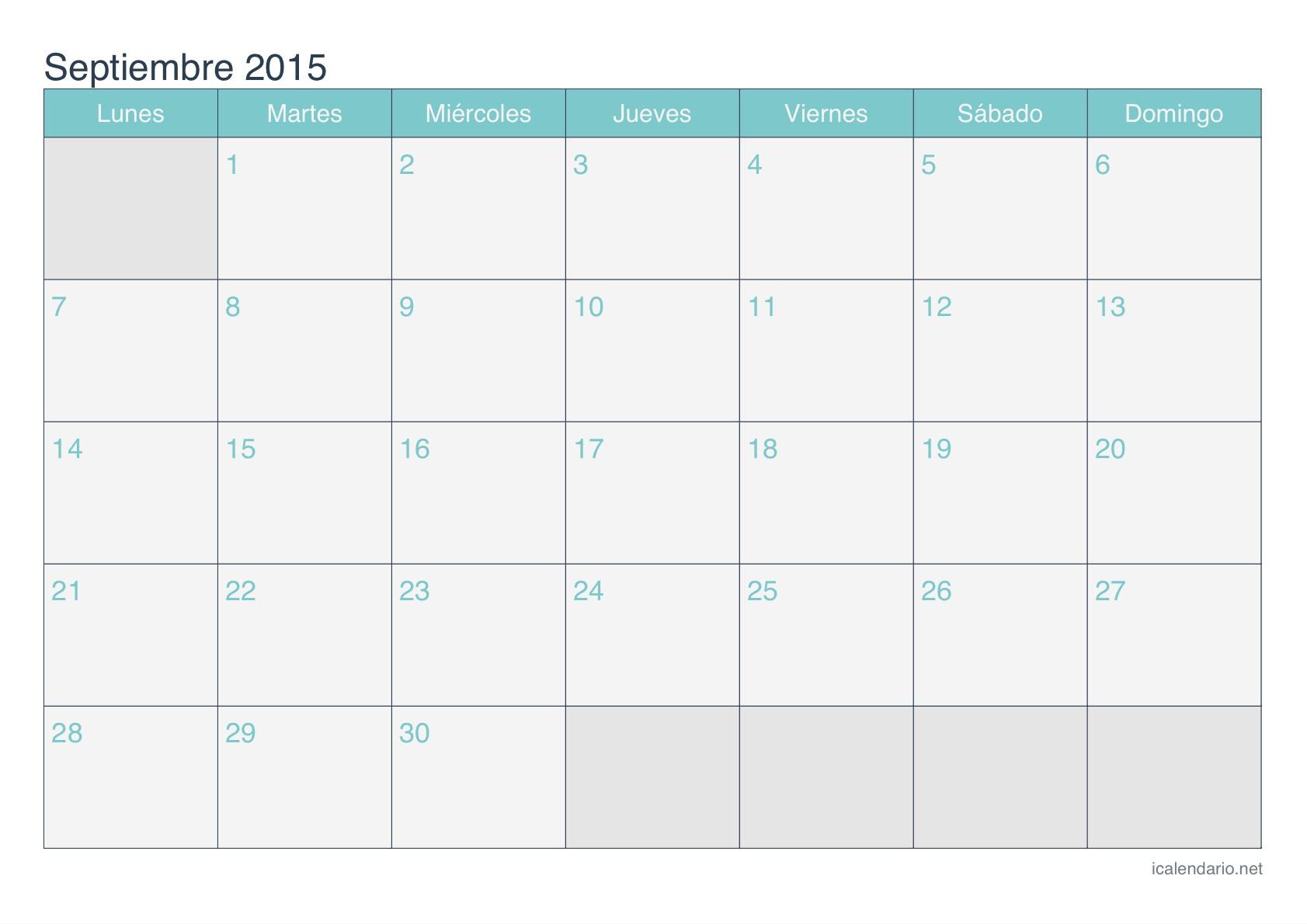 calendario octubre 2015 para imprimir 2017 vector calendar in