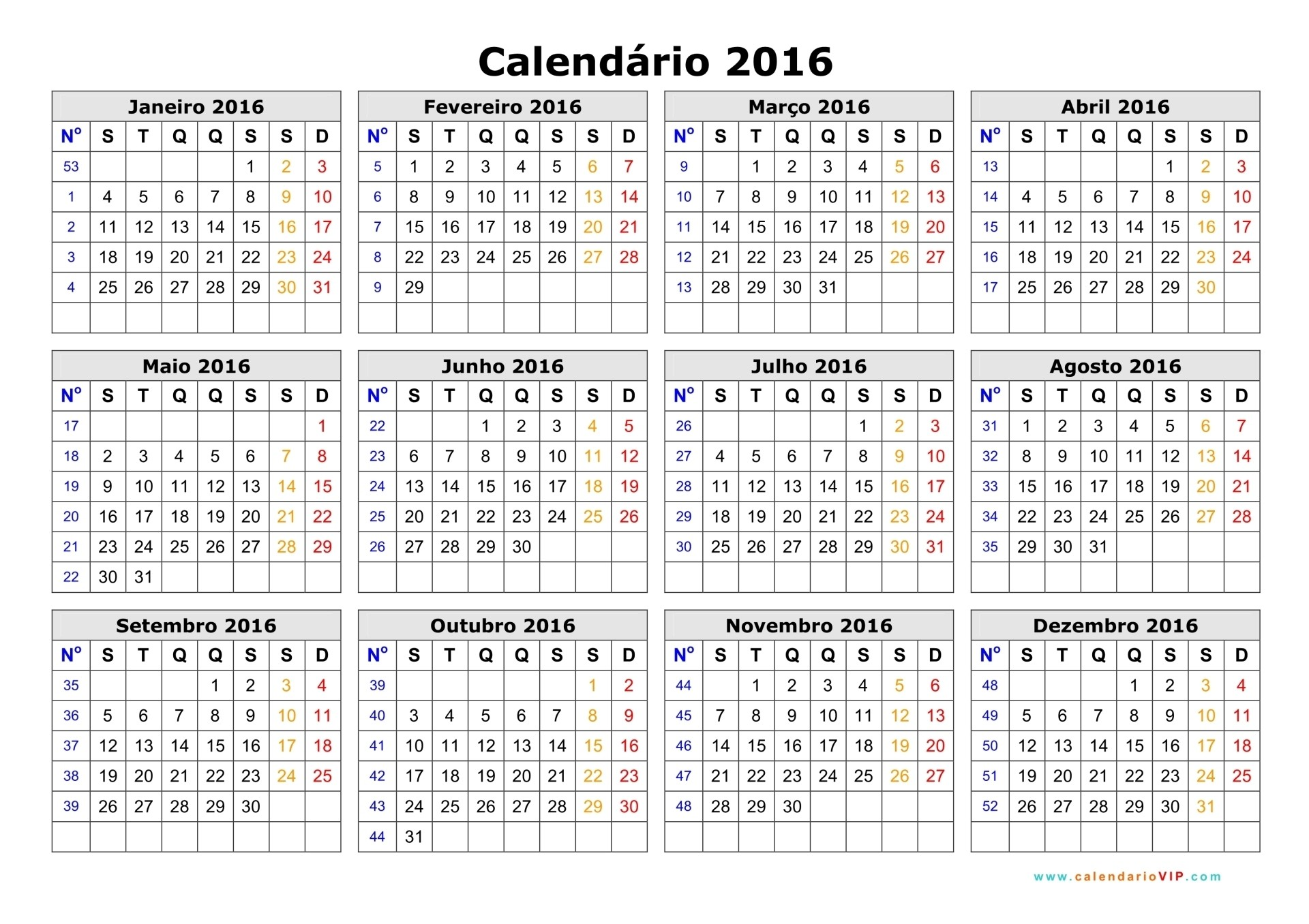 calendário anual 2016 03