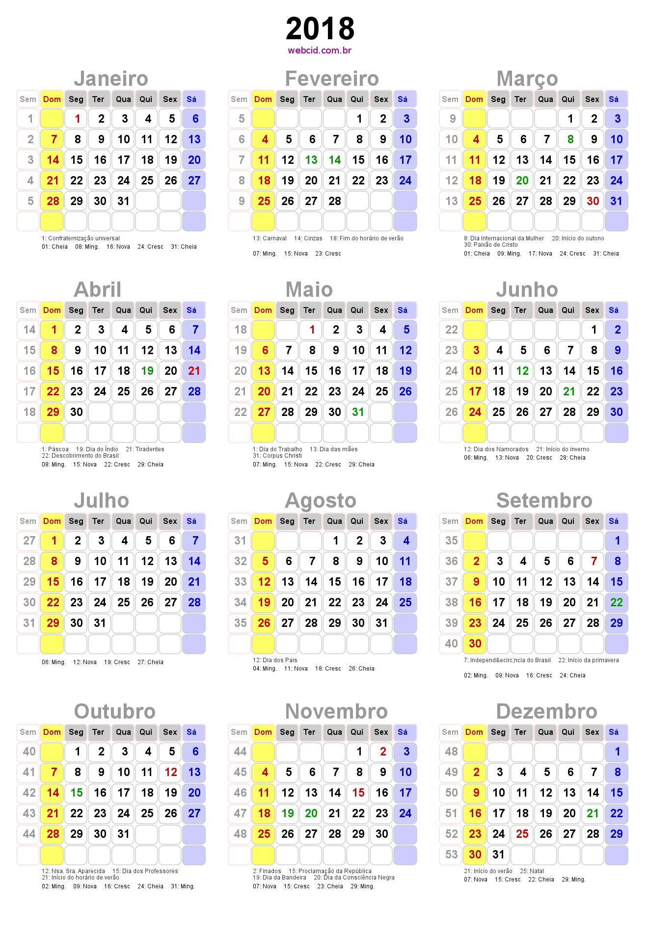 Calendário 2019 Com Feriados Nacionais Recientes Pin by Elizabeth Germano Miraldo On Calendario 2018 Of Calendário 2019 Com Feriados Nacionais Más Recientemente Liberado Feeds Rss Search Nasa Pdf Free Download