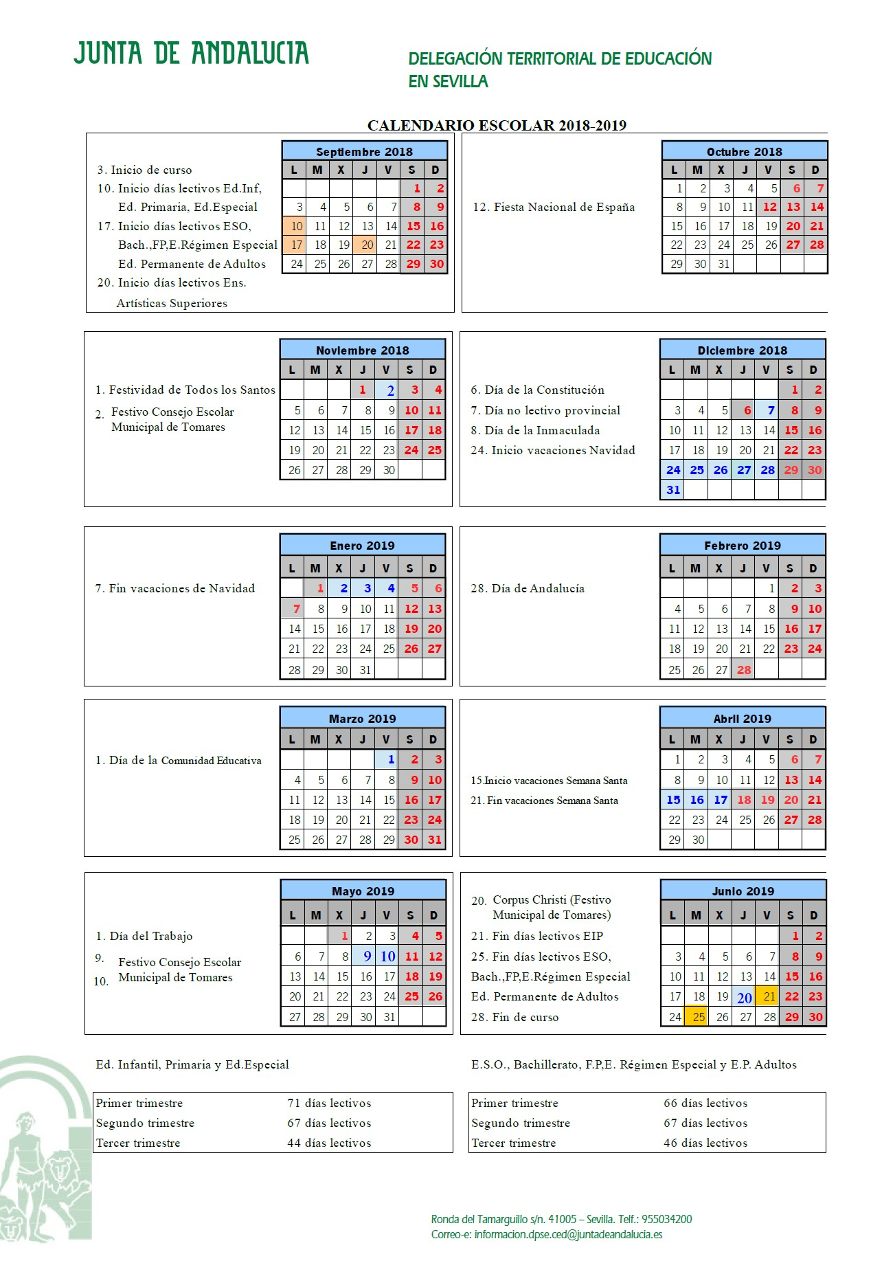 Calendario 2019 Con Festivos En andalucia Más Reciente Calendario Escolar Of Calendario 2019 Con Festivos En andalucia Más Recientes Spj Uso Publicado En Boe El Calendario Laboral De 2019