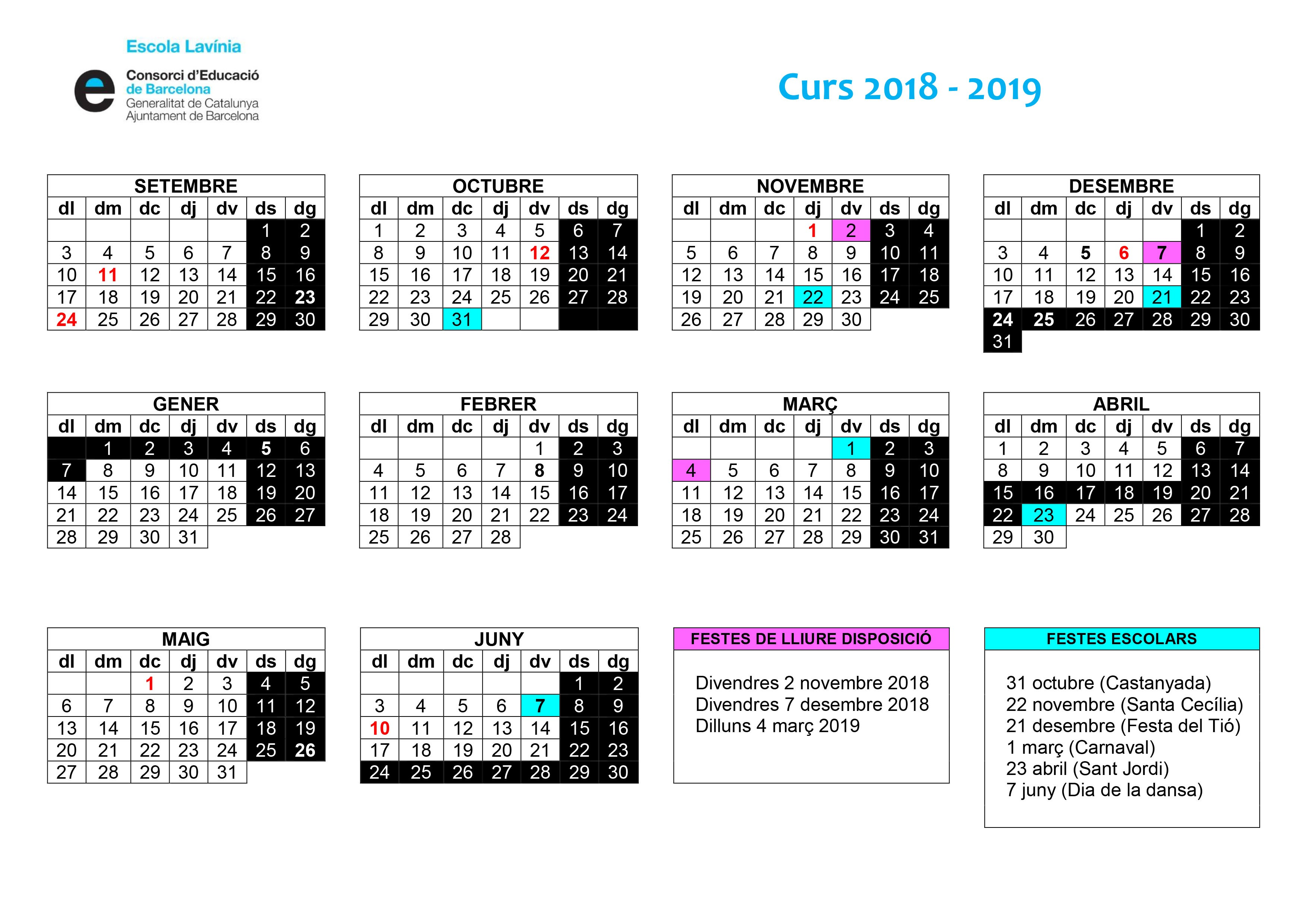 "Calendario 2019 Fc Barcelona Más Actual Calendari 2018 2019 Of Calendario 2019 Fc Barcelona Más Recientes Declaraci""n De Red Declaraci""n De Red Document De Référence Du"