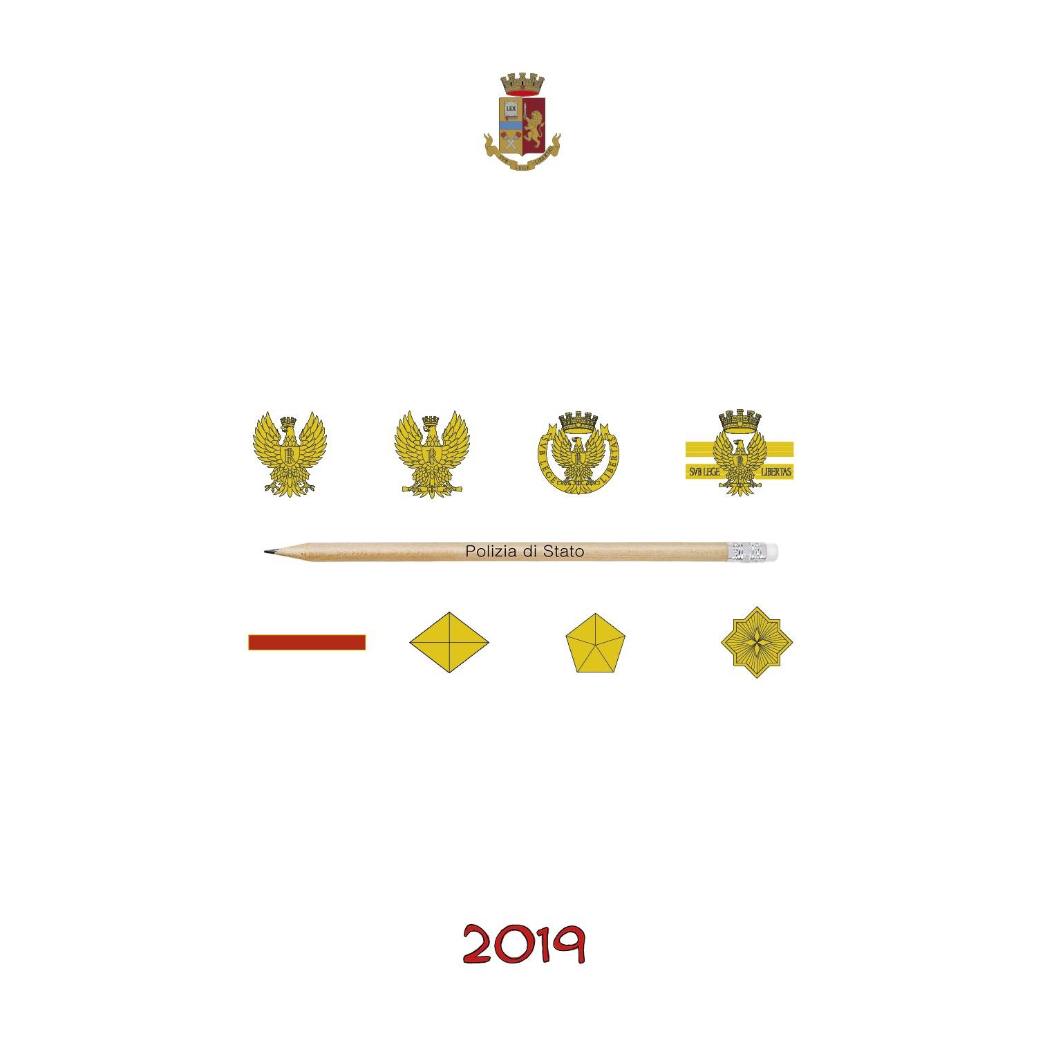 Calendario 2019 Italiano Más Reciente Calendario Polizia Di Stato 2019 Of Calendario 2019 Italiano Más Recientes Calendario 2018