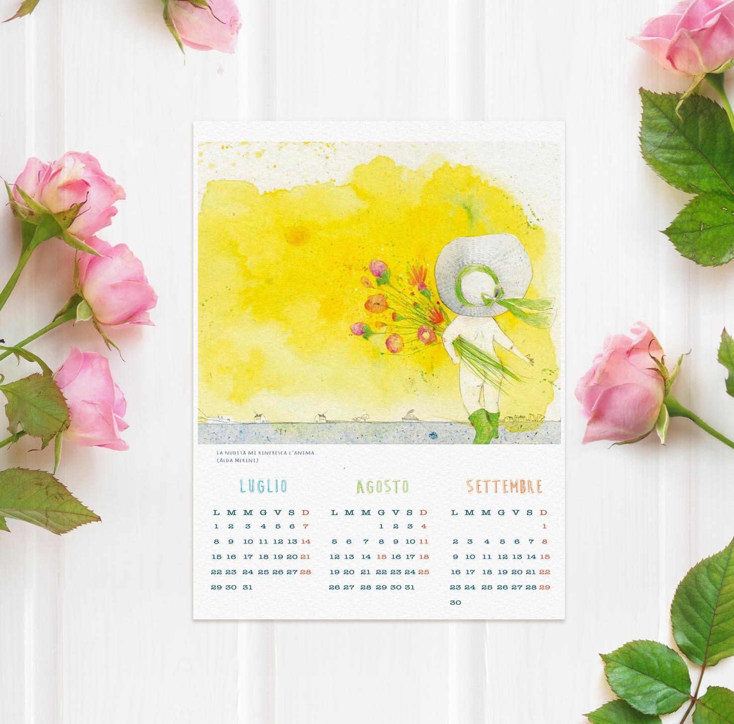 Calendario 2019 Stampabile ficinaMezzaluna