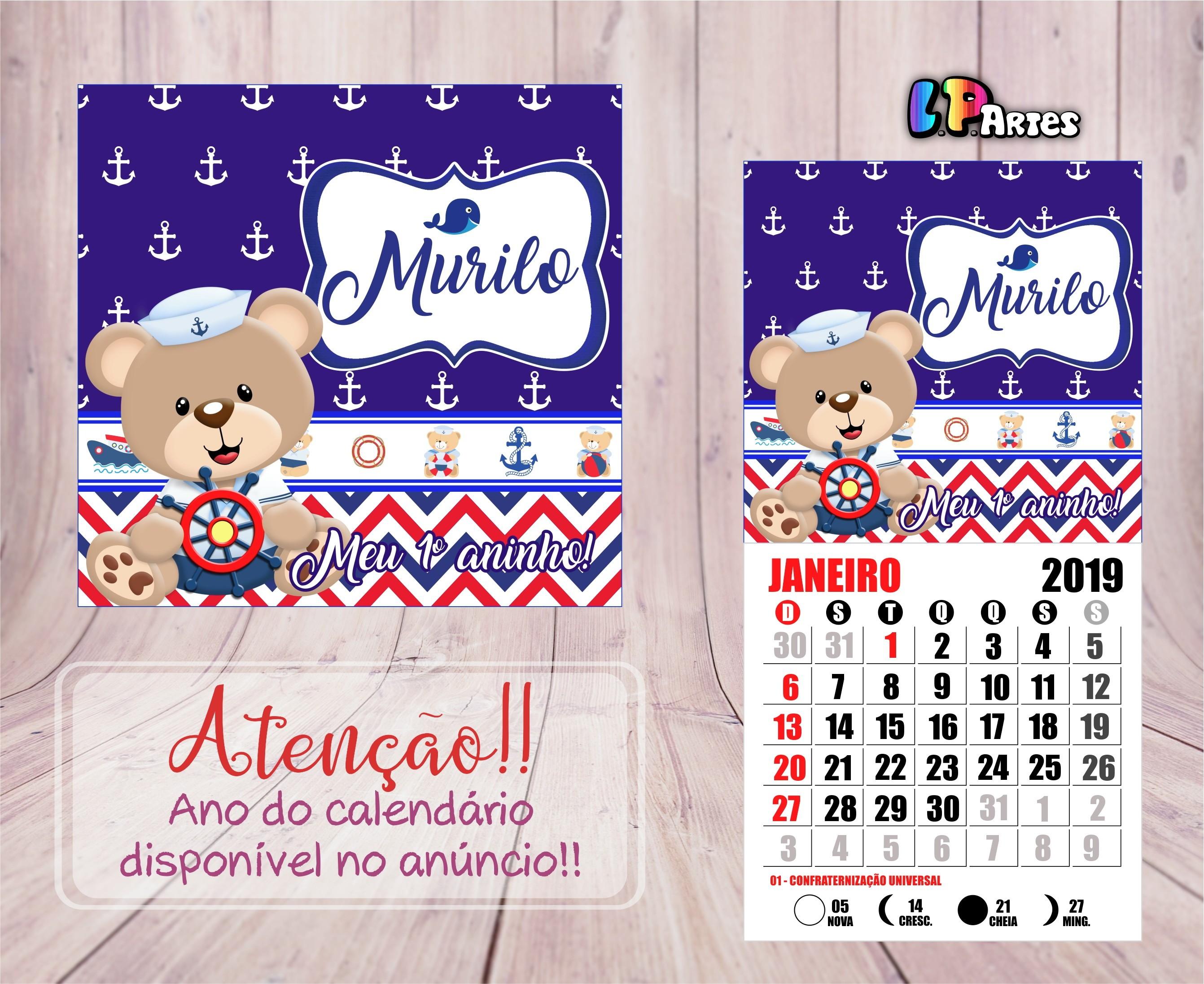 Calendario 2019 Lune Recientes Calendário Ursos