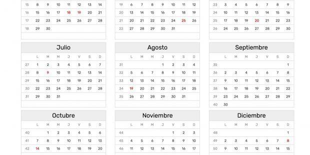 Actualidad Calendario 2019 Para Imprimir Argentina Con Feriados
