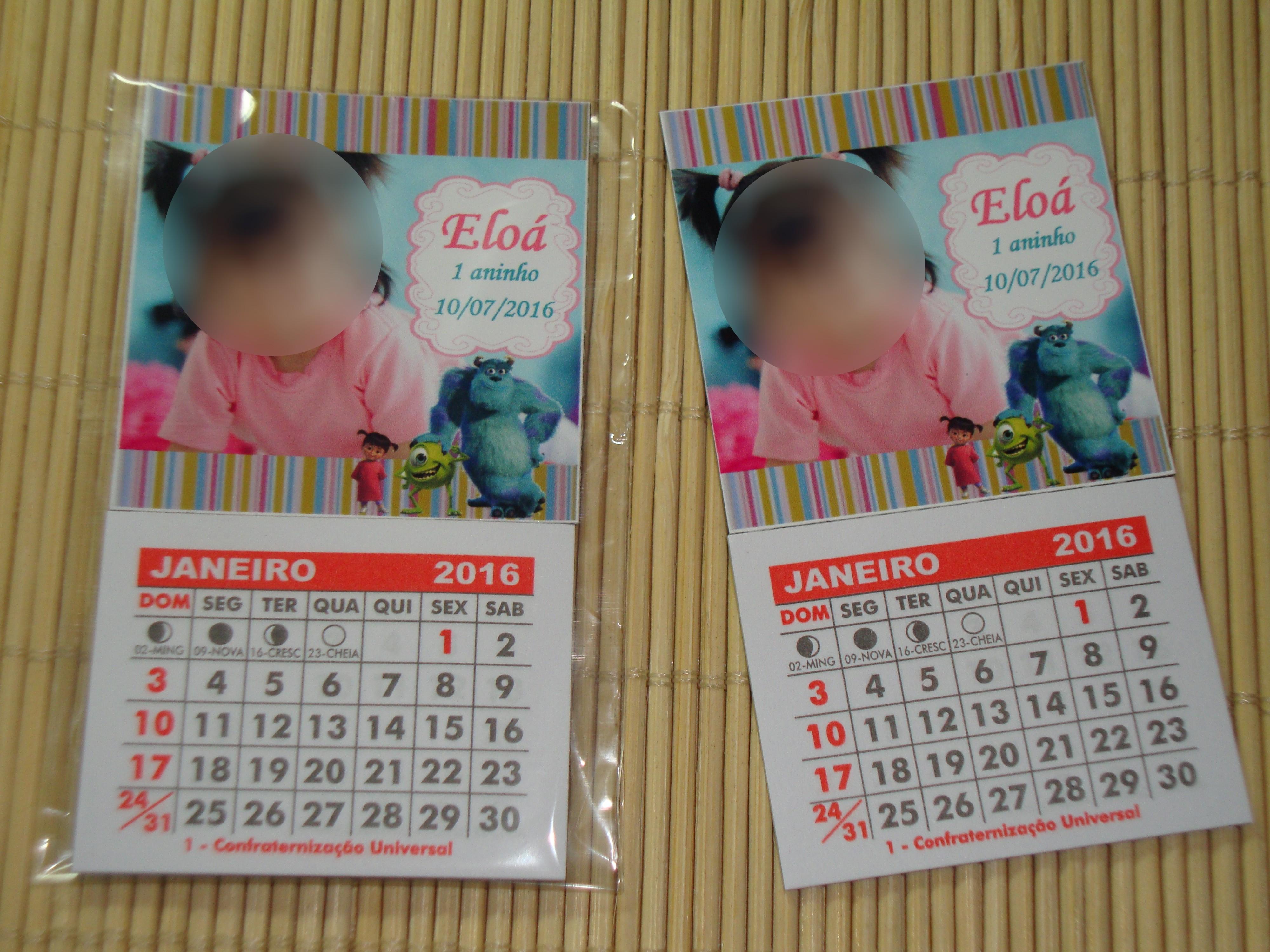 Calendario 2019 Para Imprimir Com Feriados Sp Más Populares Calendário 2019 C Im£ Monstros Sa No Elo7