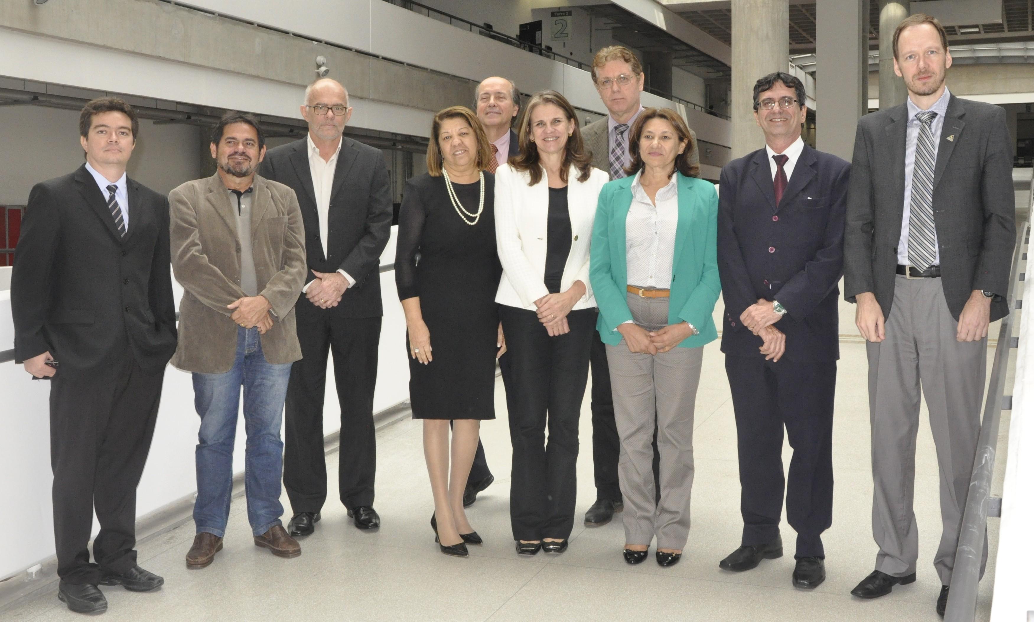 Dirigentes das dez universidades federais mais novas do Brasil
