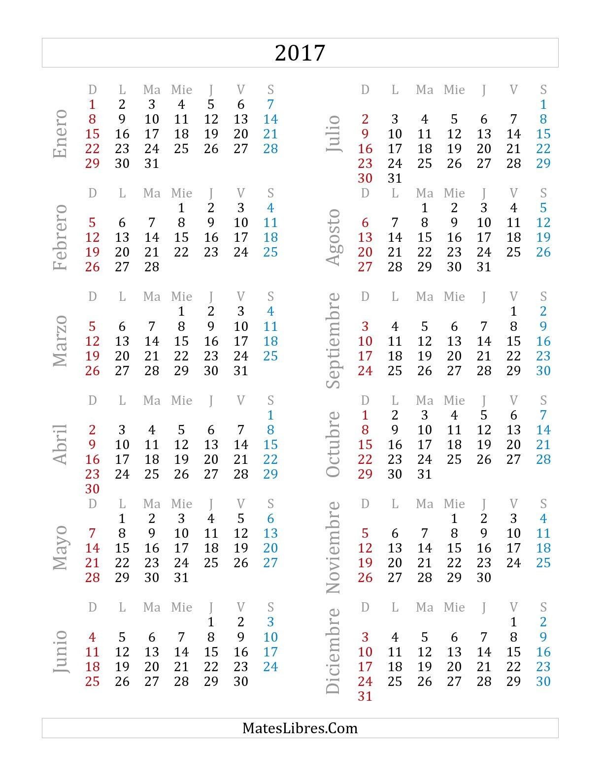 blank calendar 2019 with us holidays 12 months on one page