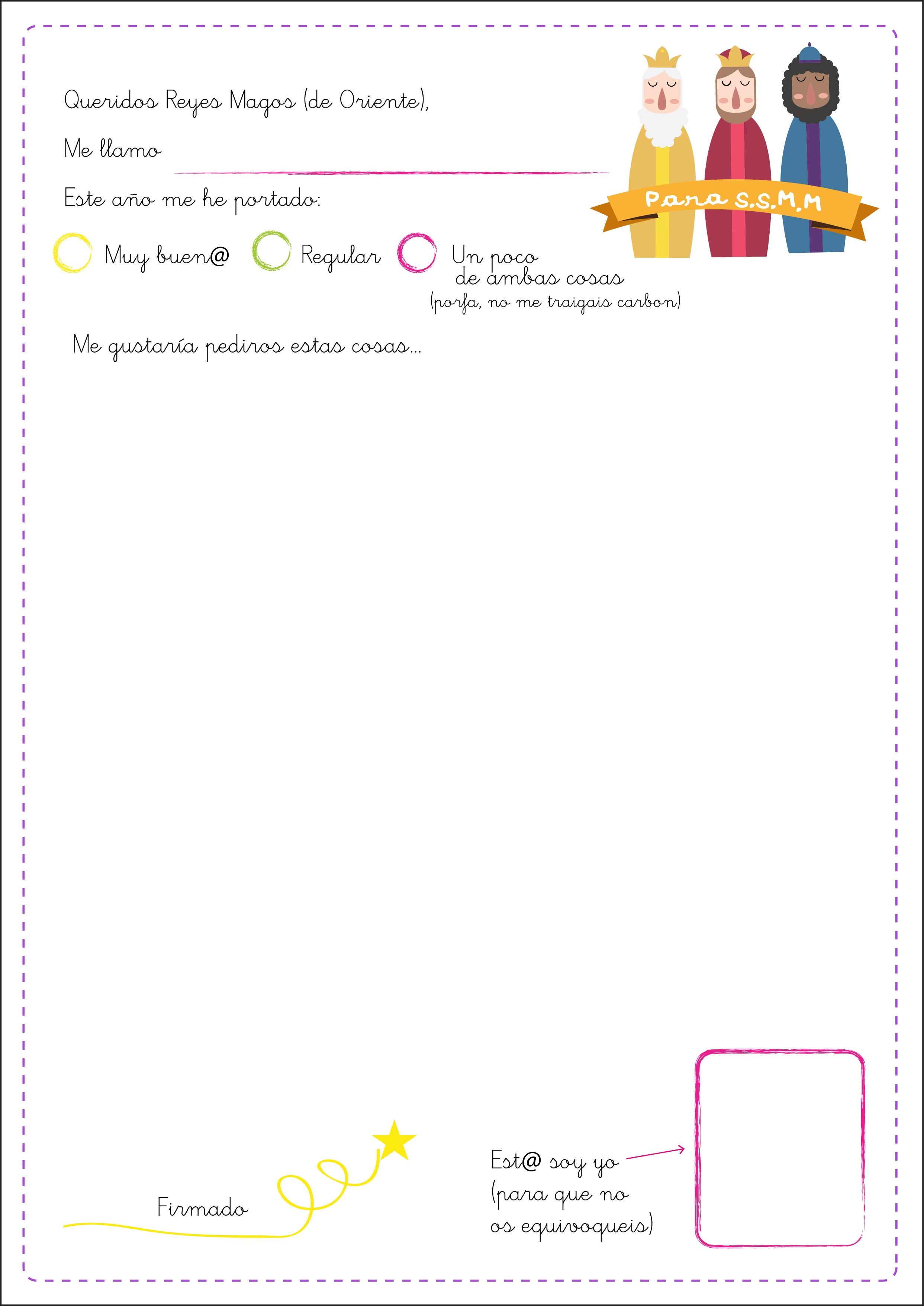 Calendario Blanco 2019 Para Imprimir Más Actual Más De 50 Cartas Para Enviar A Los Reyes Para Imprimir Y Descargar