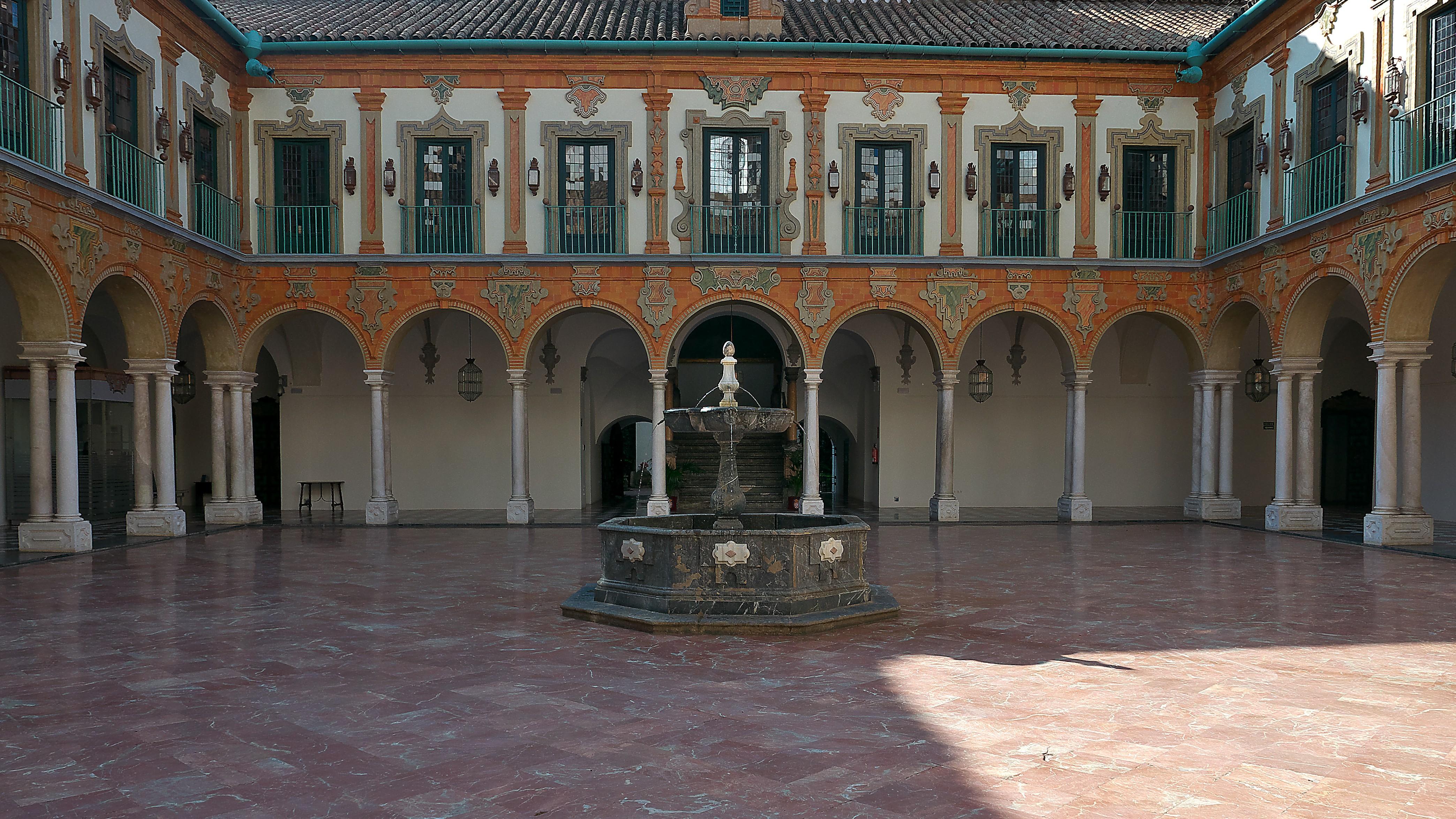 Convento de la Merced Calzada Córdoba Claustro