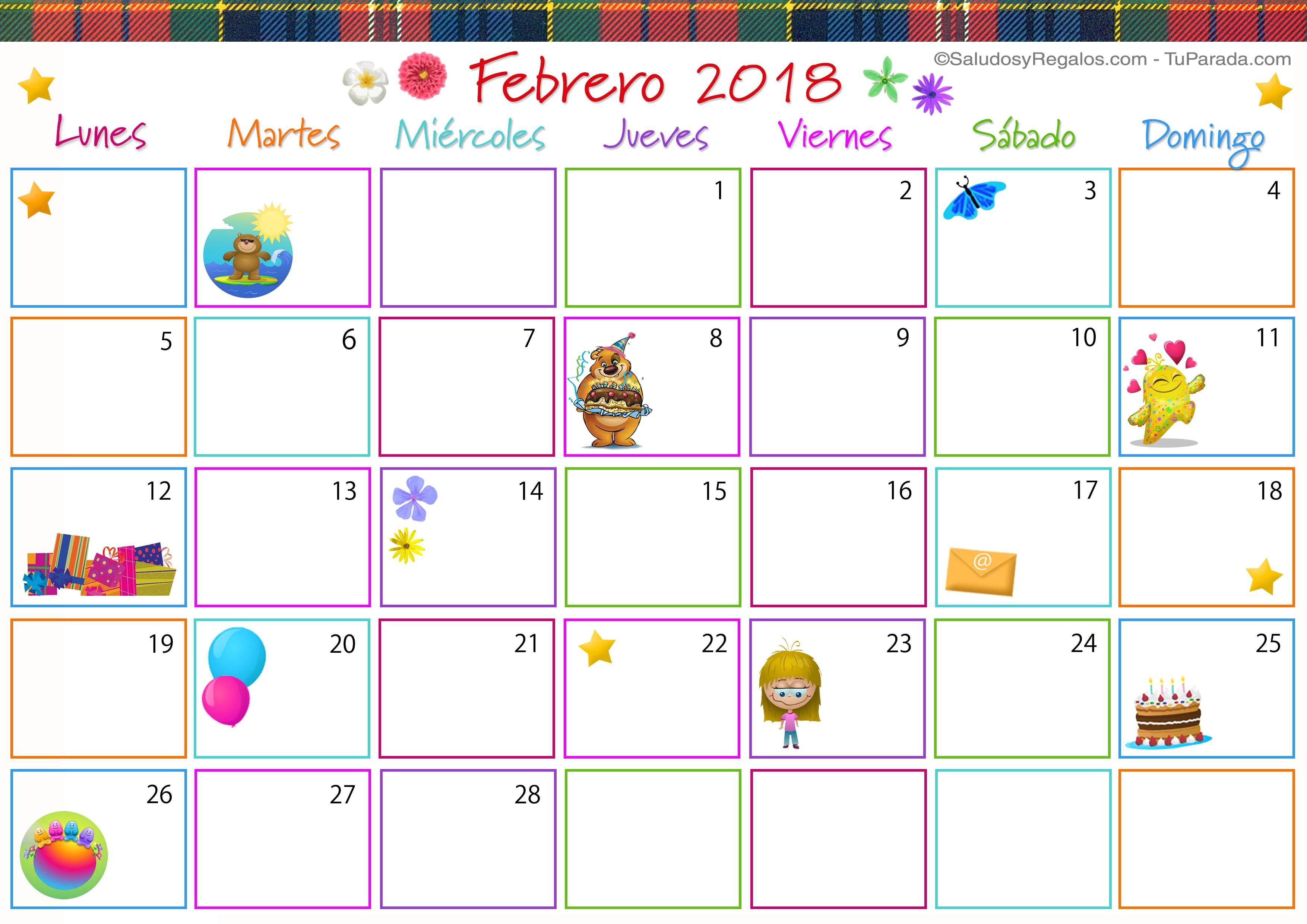Calendario Cumpleaños Imprimir Más Recientemente Liberado forum ¤ã•¿Ê¤ eventos Para El Mes De Febrero 2018 ʤ¤ã•¿ Unitedcats