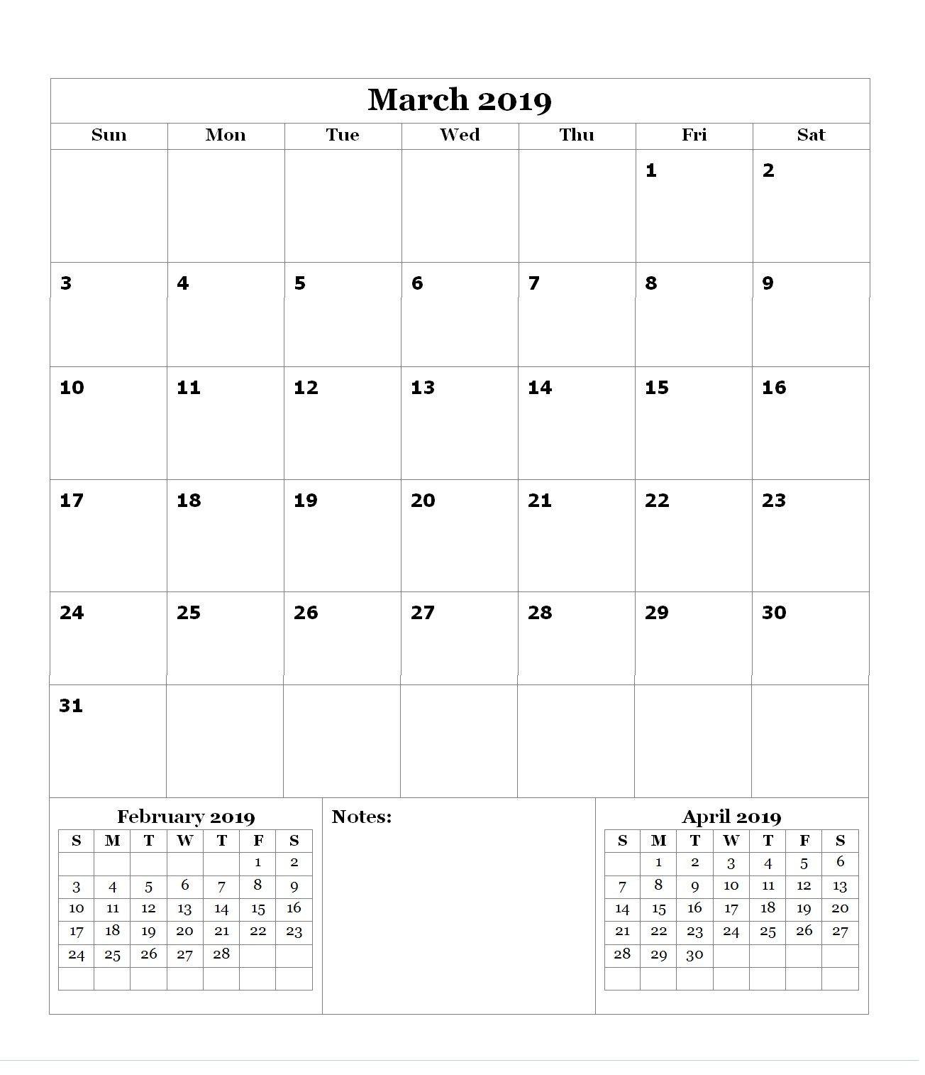 Calendario De 2019 De Colombia Más Recientes Monthly Blank Calendar 2019 Maxcalendars