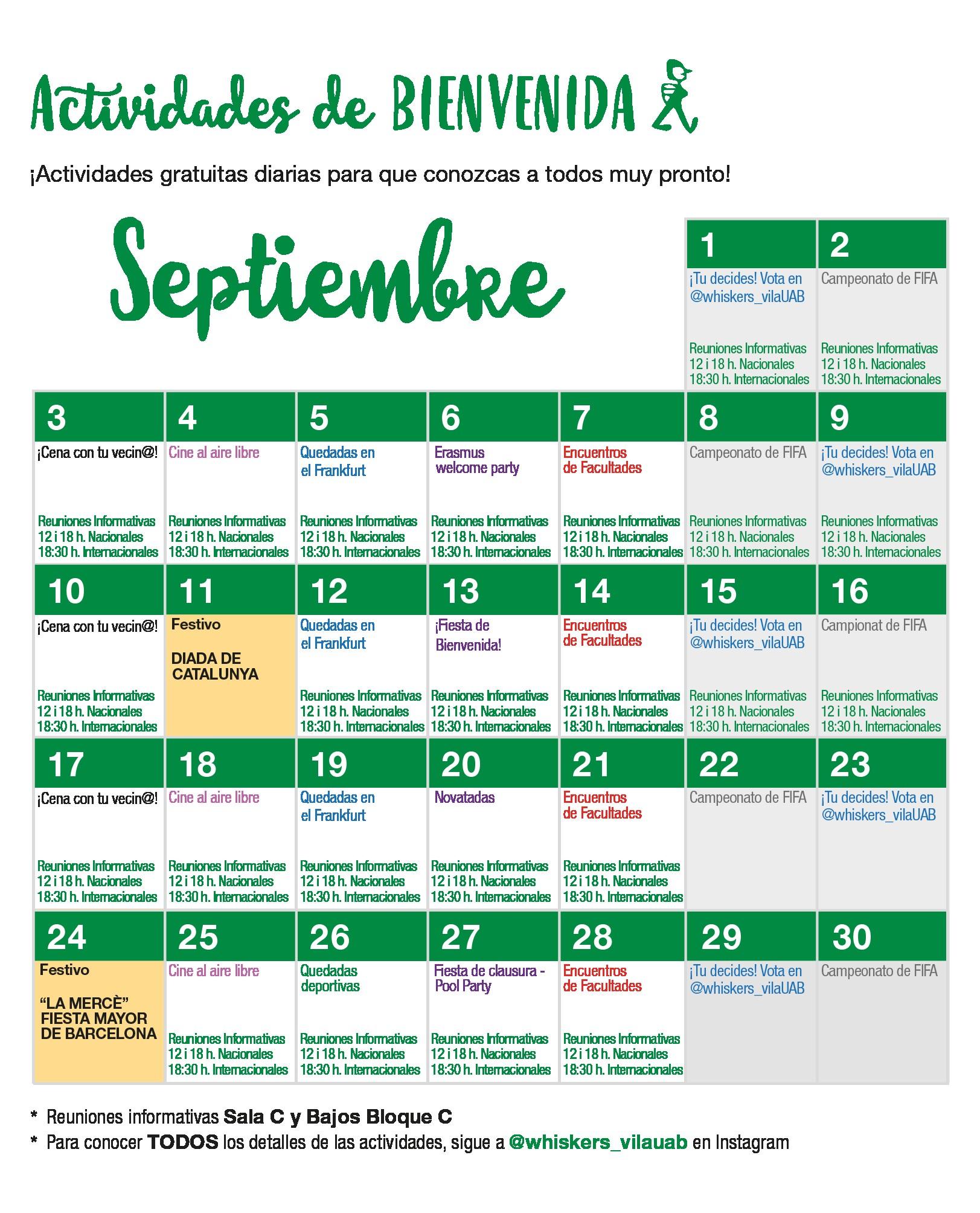 Calendario De Fiestas Catalunya 2019 Más Recientes Informaci³n ºtil Para Residentes Renovadores De Vila Universitria Of Calendario De Fiestas Catalunya 2019 Más Recientes Calendario 2019 Para Imprimir Icalendario
