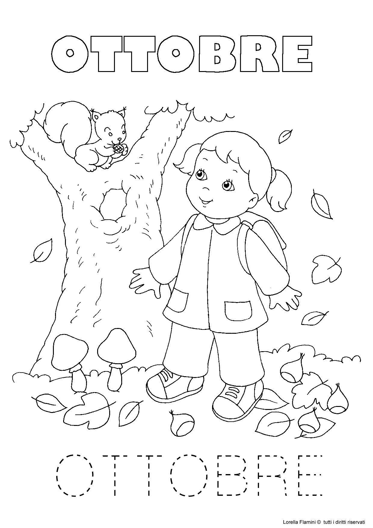 october Preschool Education Autumn Activities Weather Seasons Language School Fall Crafts