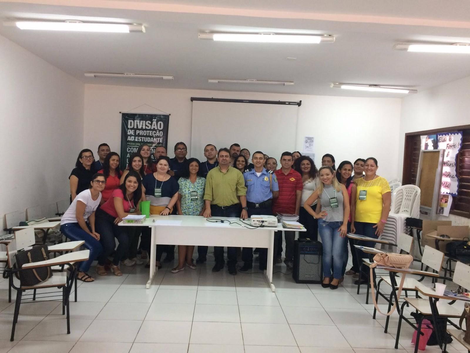 Mediadores unitários de Maracanaº participam de treinamento