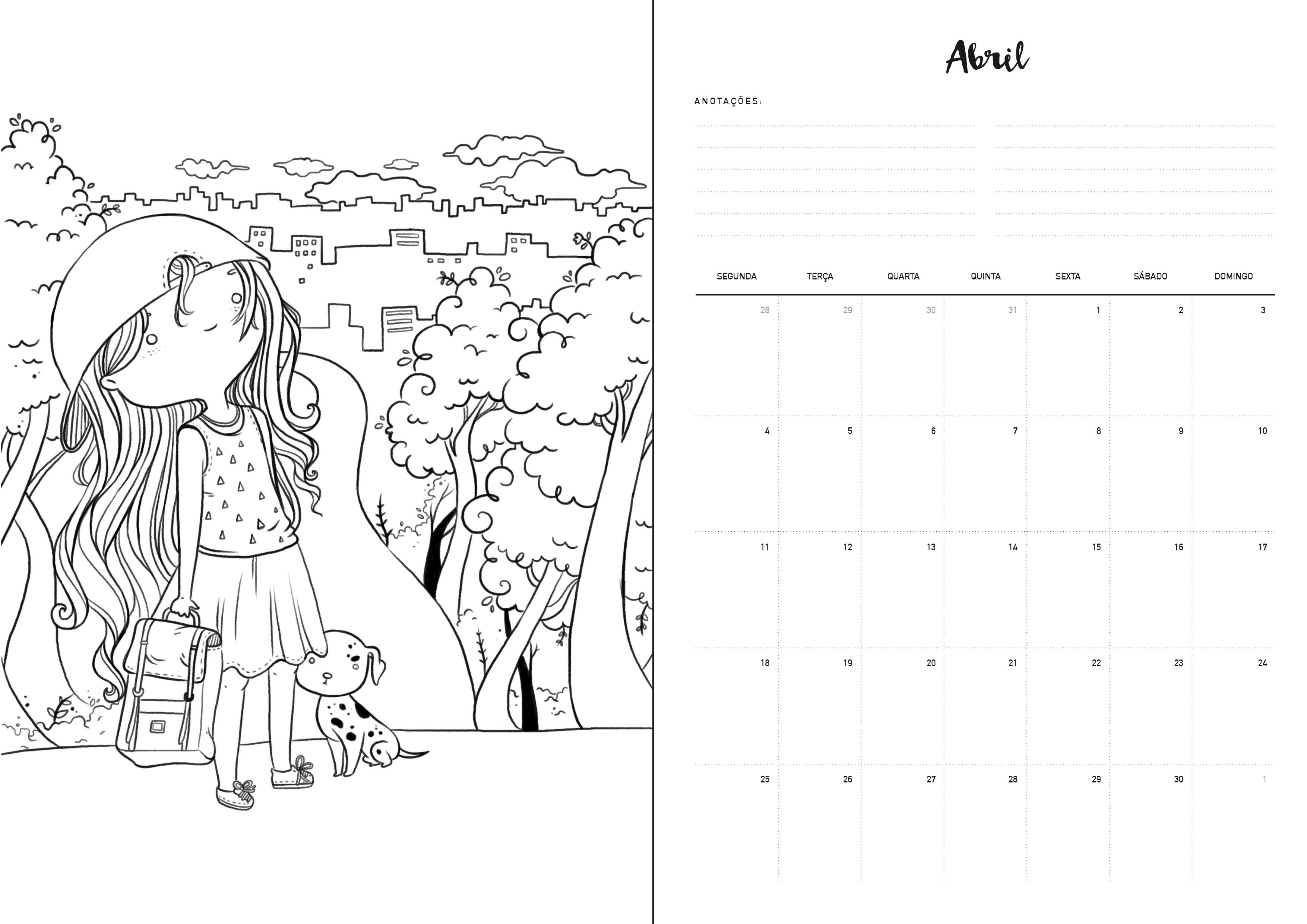 abril planner