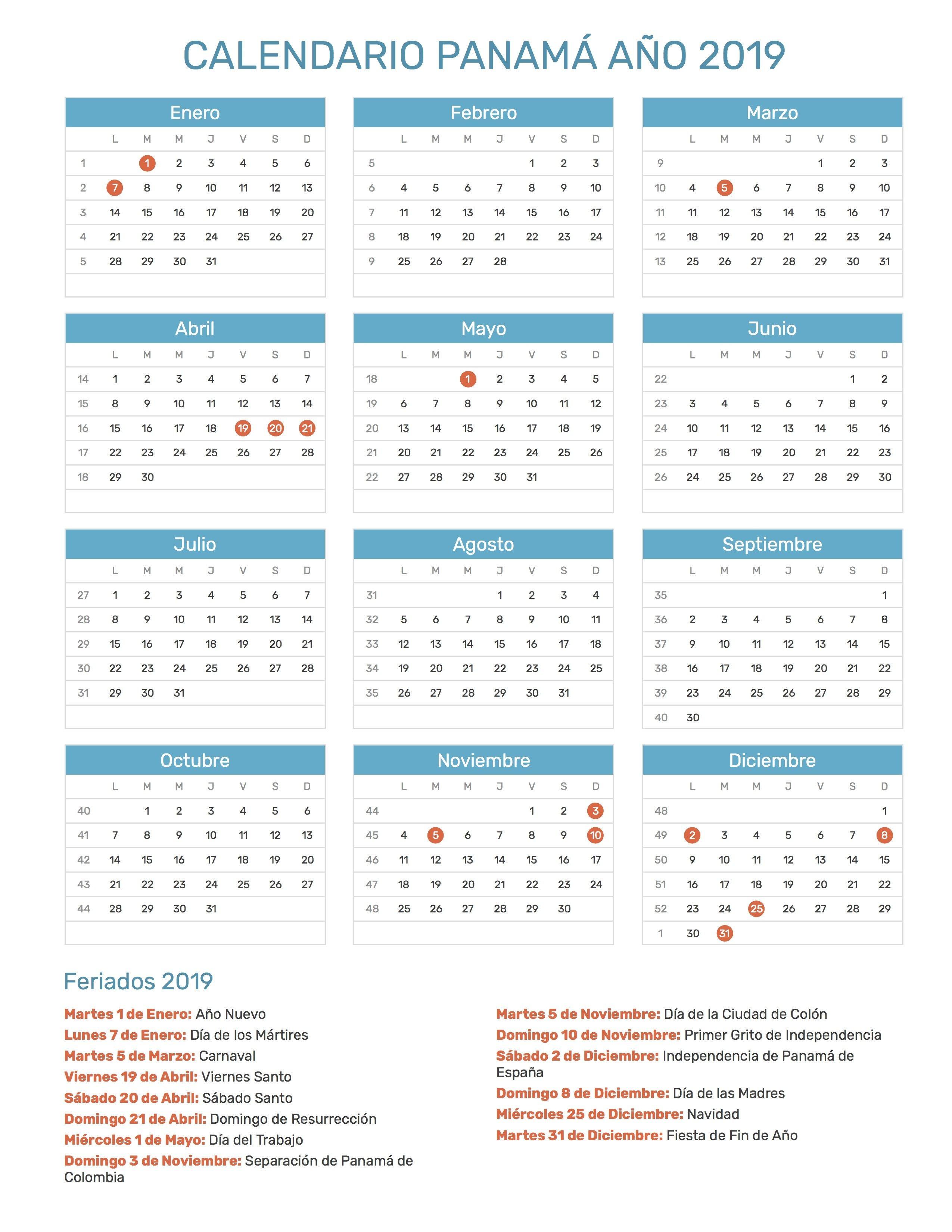 Calendario Enero 2017 Para Imprimir Pdf Más Recientes Pin De Calendario Hispano En Calendario Con Feriados A±o 2019