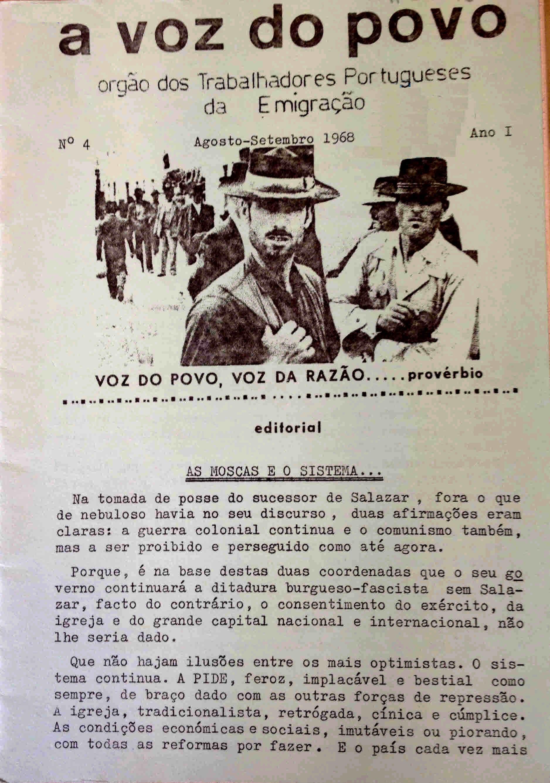 A VOZ DO POVO – EPHEMERA – Biblioteca e arquivo de José Pacheco Pereira
