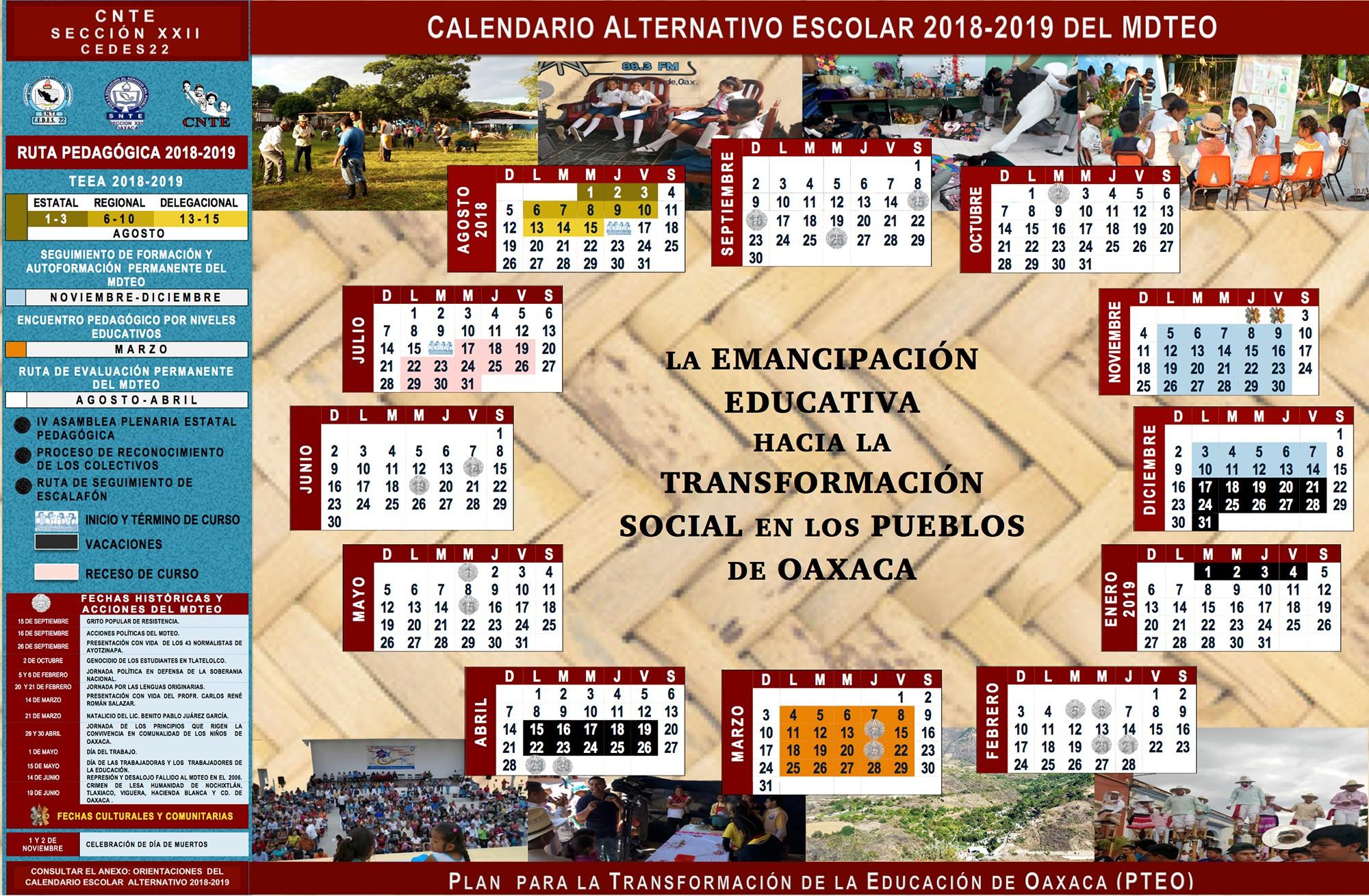 Calendario Escolar 2019 A Más Actual Calendario Alternativo Escolar 2018 2019 Del Mdteo Of Calendario Escolar 2019 A Más Caliente Calendario Escolar