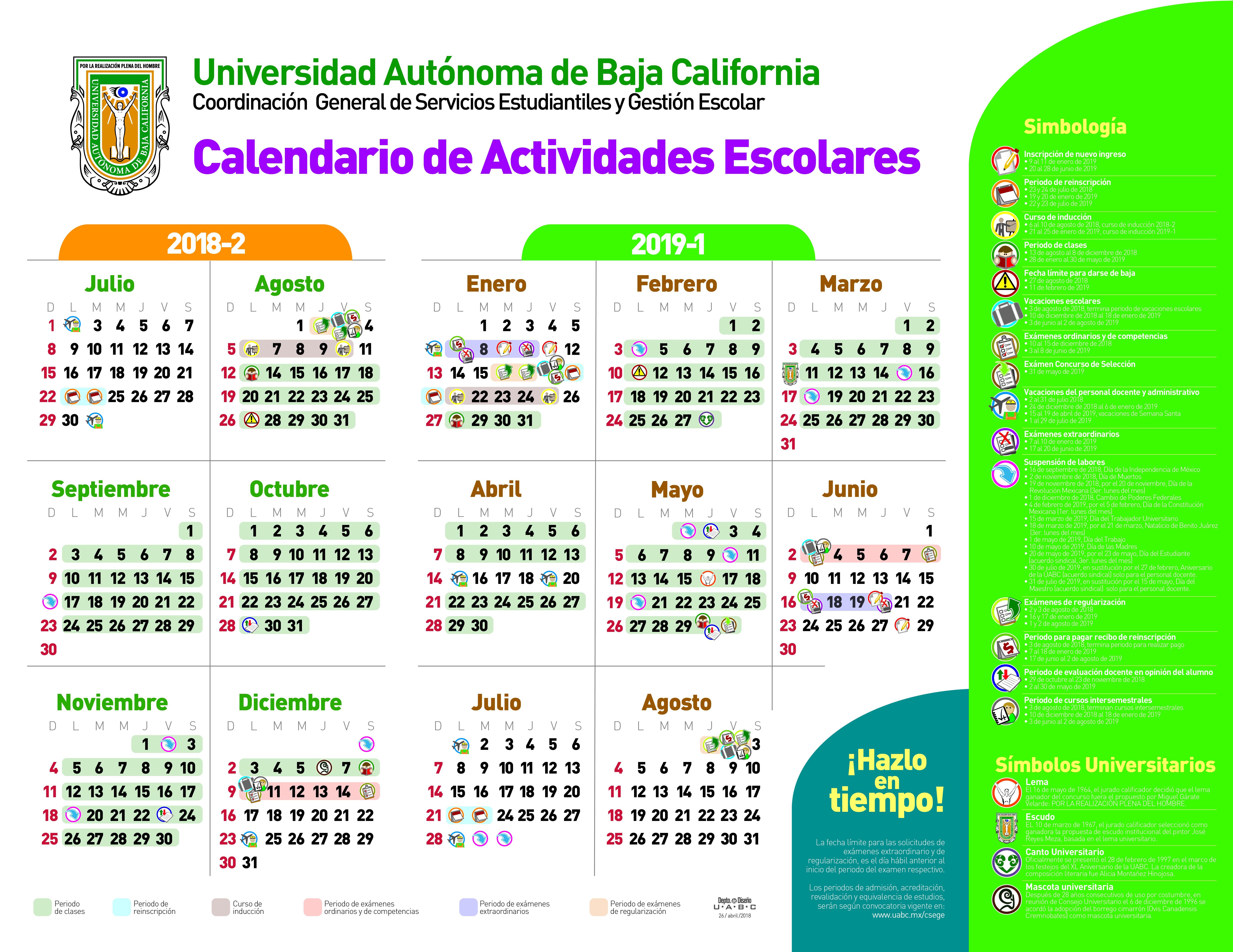 Calendario Escolar 2019 Baja California Recientes Unidad De Ciencias De La Salud Of Calendario Escolar 2019 Baja California Mejores Y Más Novedosos Universidad Aut³noma De Baja California Sur
