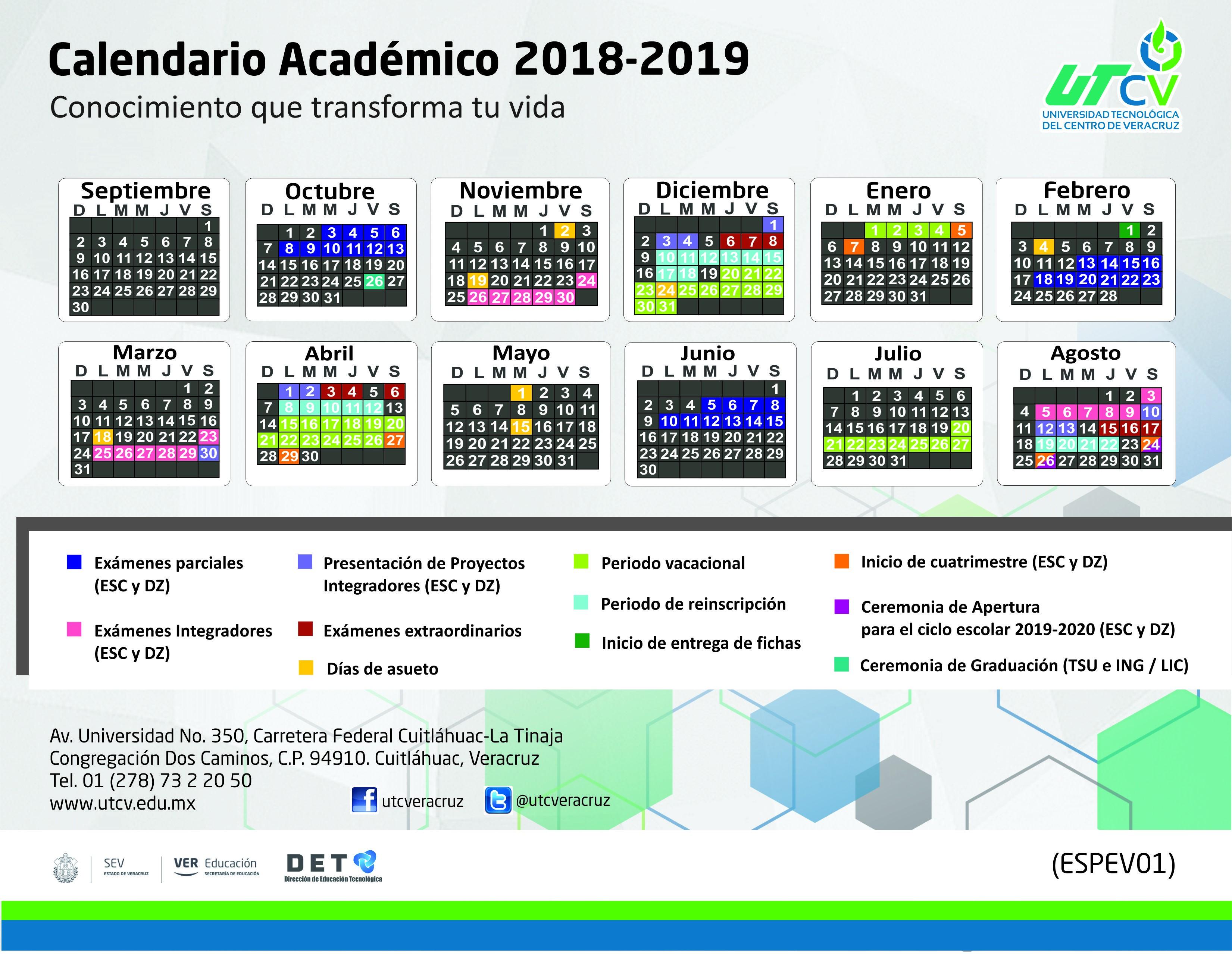 Calendario Escolar 2019 Baja California Recientes Universidad Tecnol³gica Del Centro De Veracruz Of Calendario Escolar 2019 Baja California Mejores Y Más Novedosos Universidad Aut³noma De Baja California Sur