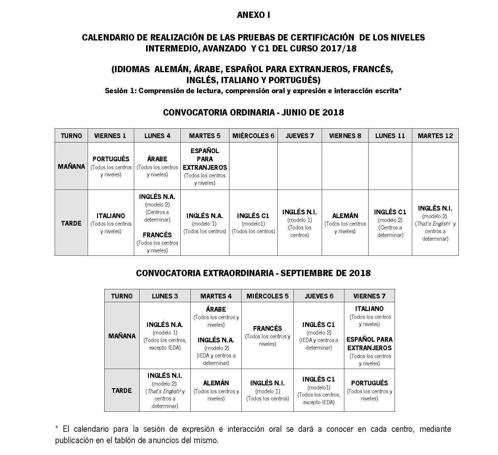 "Calendario Escolar 2019 Ceuta Más Arriba-a-fecha Calendario De Pruebas De Evaluaci""n Y De Certificaci""n Eoi Sevilla Of Calendario Escolar 2019 Ceuta Más Arriba-a-fecha I Pact Agenda Escolar De 2018 A 2019 Tama±o A5 Vista De Un Da"