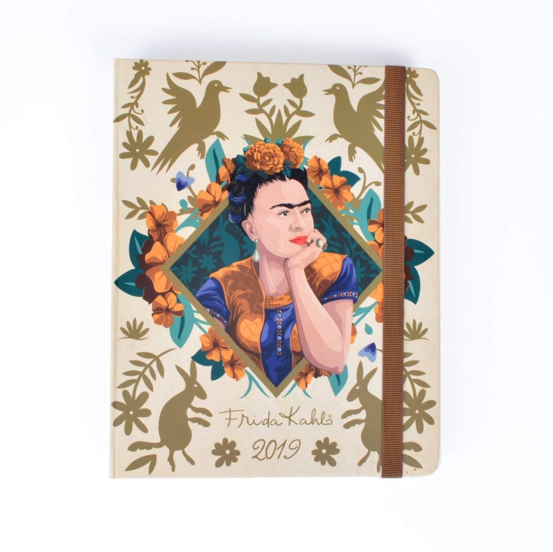 Grupo Erik Frida Kahlo Agenda 16 Meses 2018 2019 Semana Vista Amazon icina y papelera
