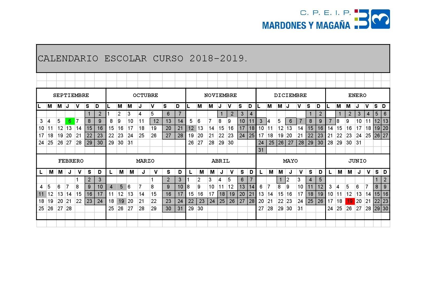 Calendario Escolar 2019 Navarra Recientes Bienvenid S Al Cpeip Mardones Y Maga±a Of Calendario Escolar 2019 Navarra Más Recientes Ci Agroforestal Nekazaritza Eta Basogintzako Ii – Sitio Web Del