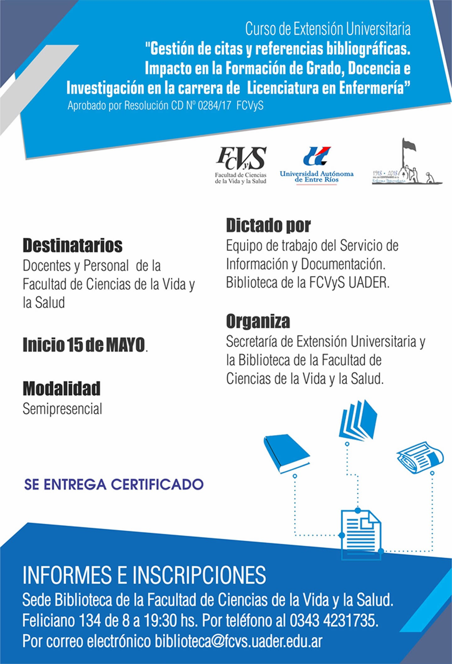 Gesti³n de Citas y Referencias Bibliográficas en Paraná