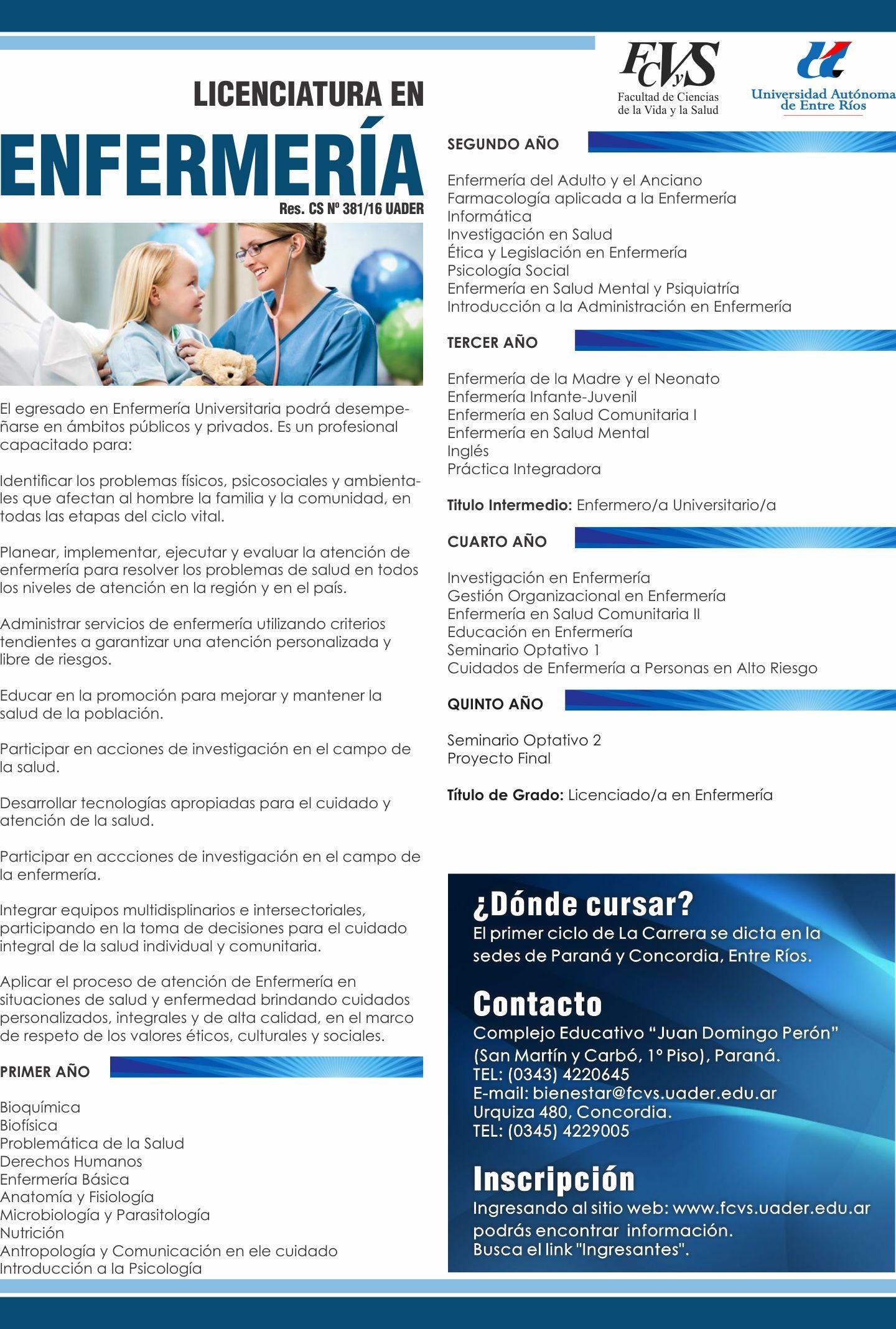 Enfermera Universitaria