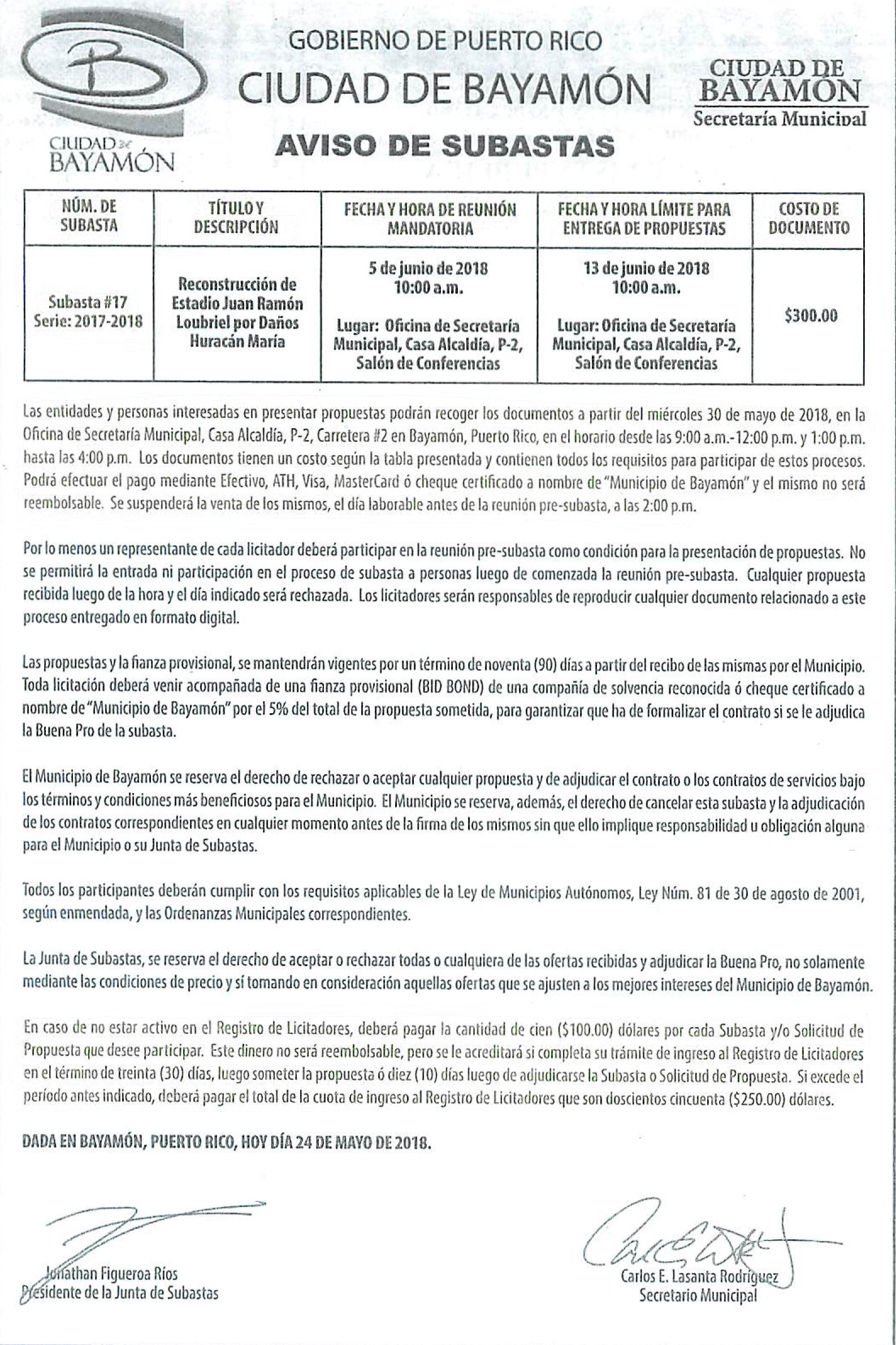 Calendario Escolar 2019 Puerto Rico Más Caliente Avisos Pºblicos Ciudad De Bayam³n Of Calendario Escolar 2019 Puerto Rico Más Recientes District News