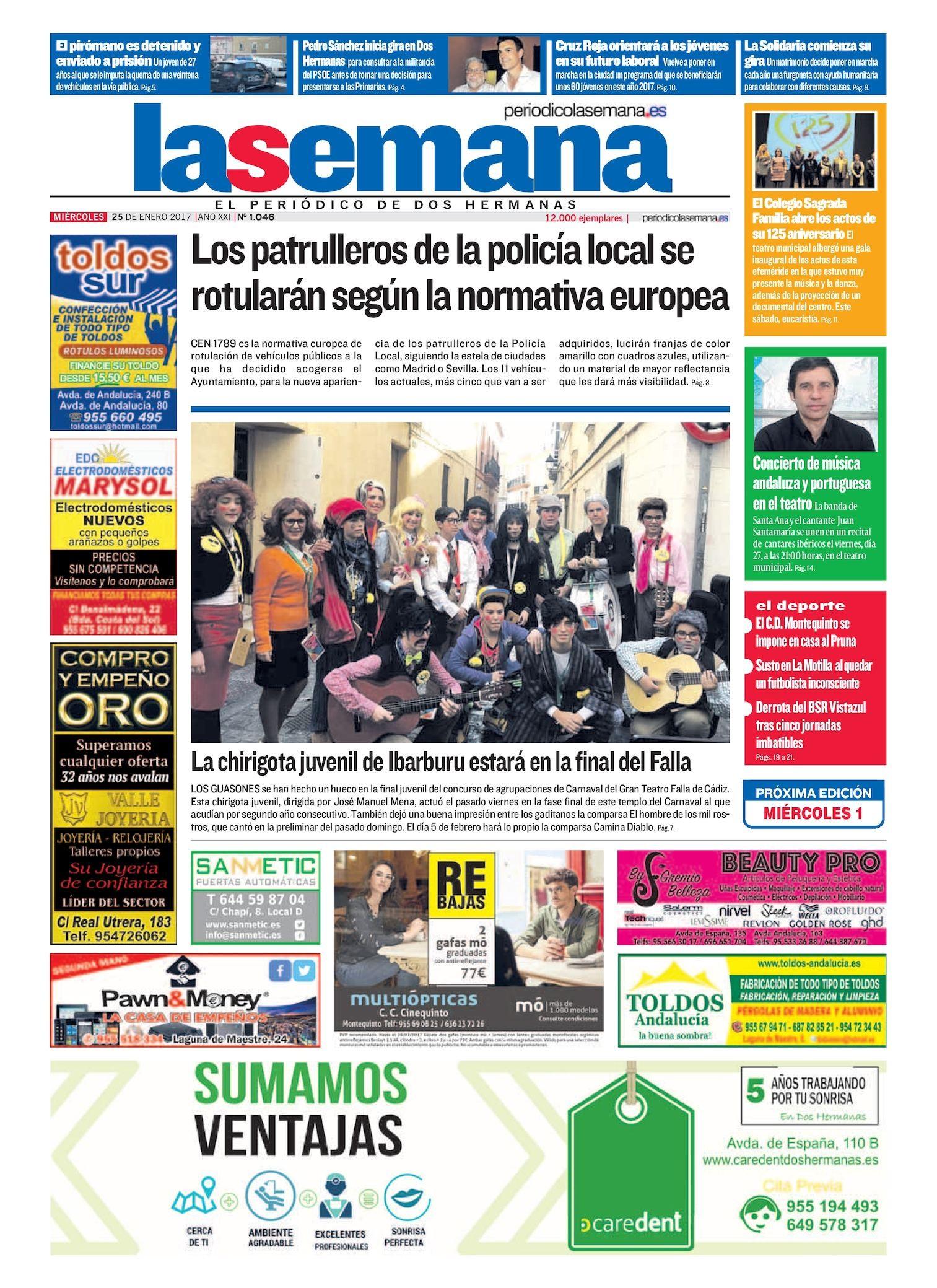 Calendario Escolar Dos Hermanas 2019 Más Recientemente Liberado Calaméo Periodico La Semana 1046