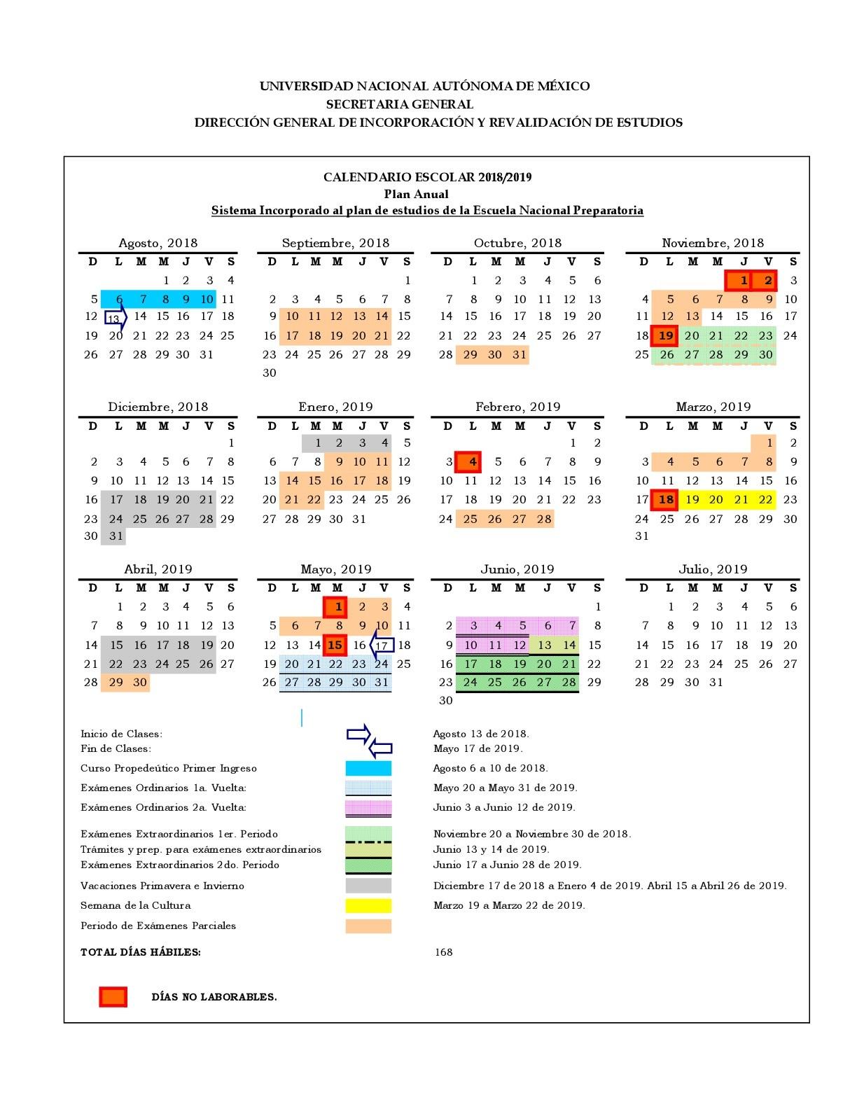 Calendario Prepa 2018 2019 001