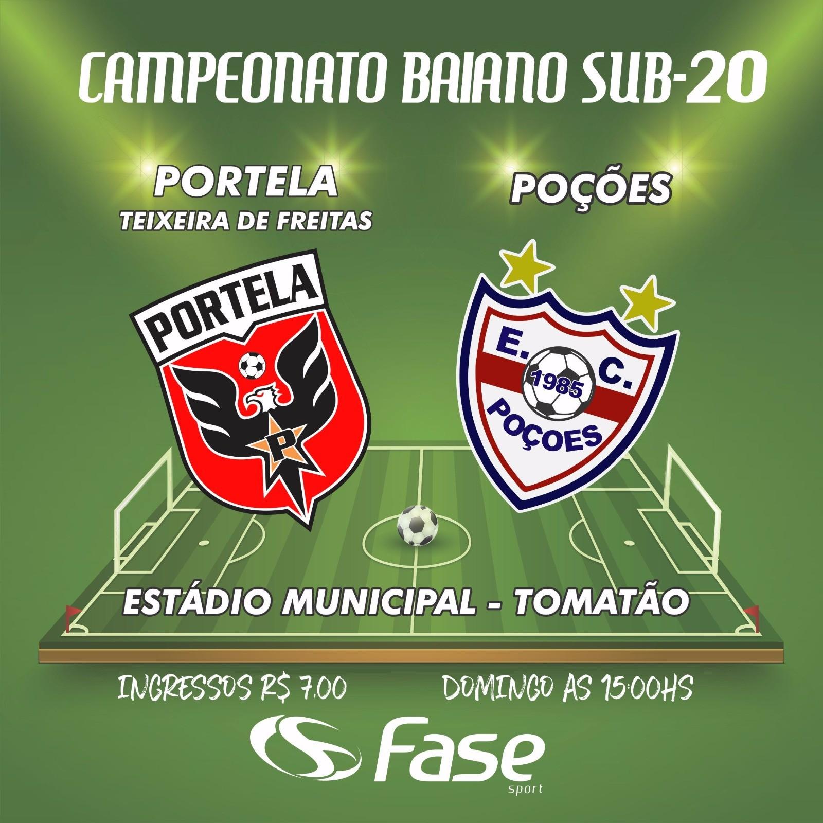 Campeonato Baiano Sub 20 FBF escala árbitro da cidade de Itamarajº para apitar Teixeira de Freitas X Po§µes