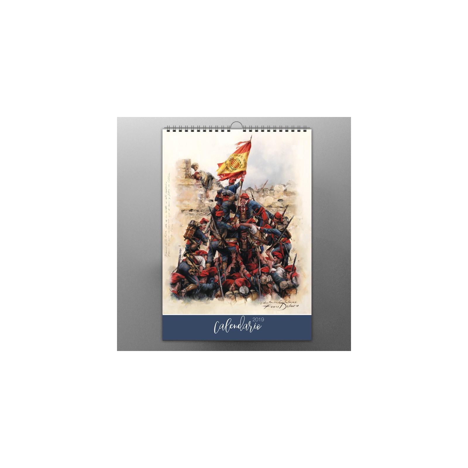 Calendario Imprimir A3 Mejores Y Más Novedosos Calendario 2019 De Augusto Ferrer Dalmau Historical Outline