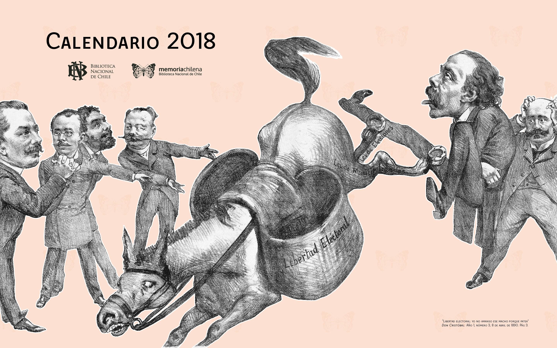 Descarga el calendario 2018 de Memoria Chilena Memoria Chilena