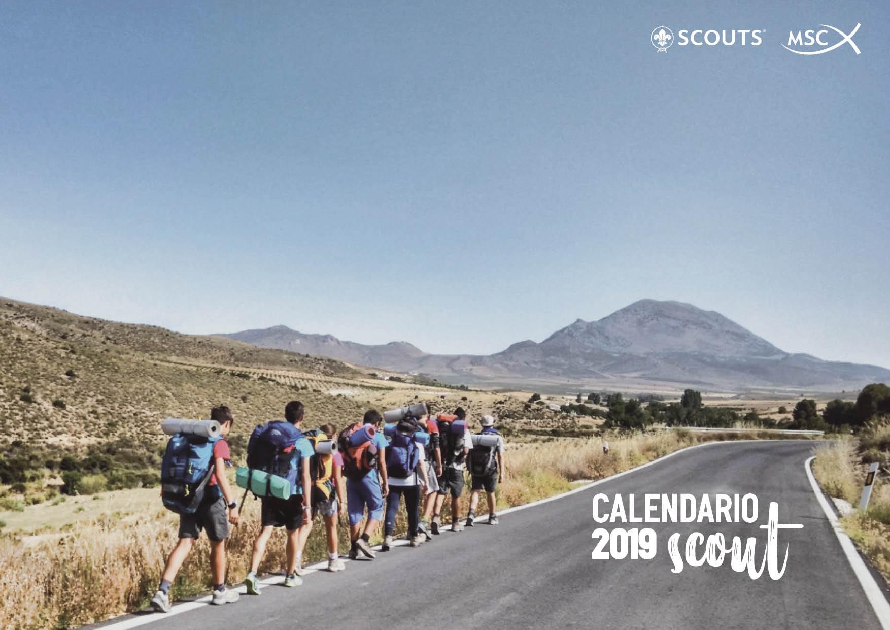 Calendario Scouts MSC 2019