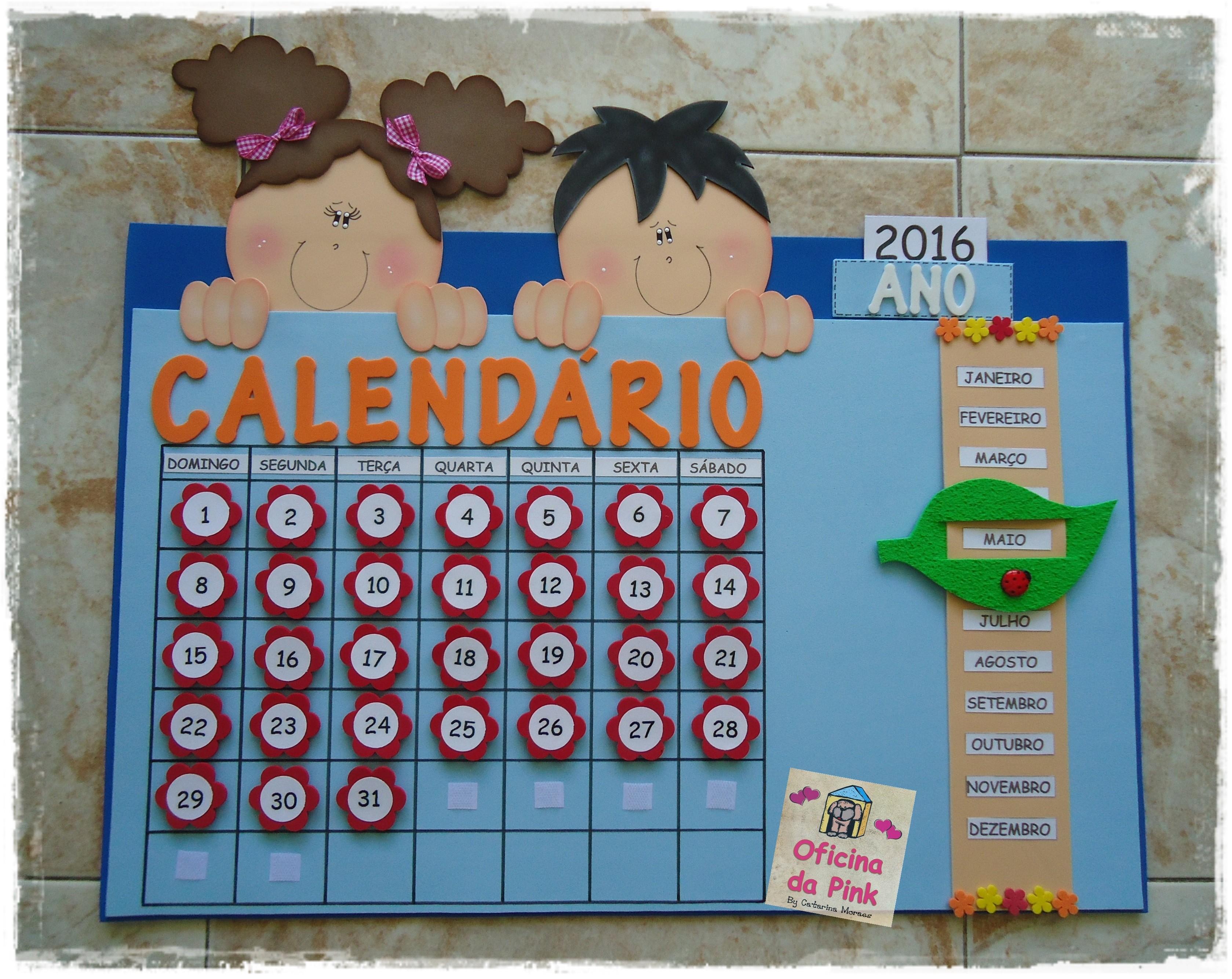 calendario professora