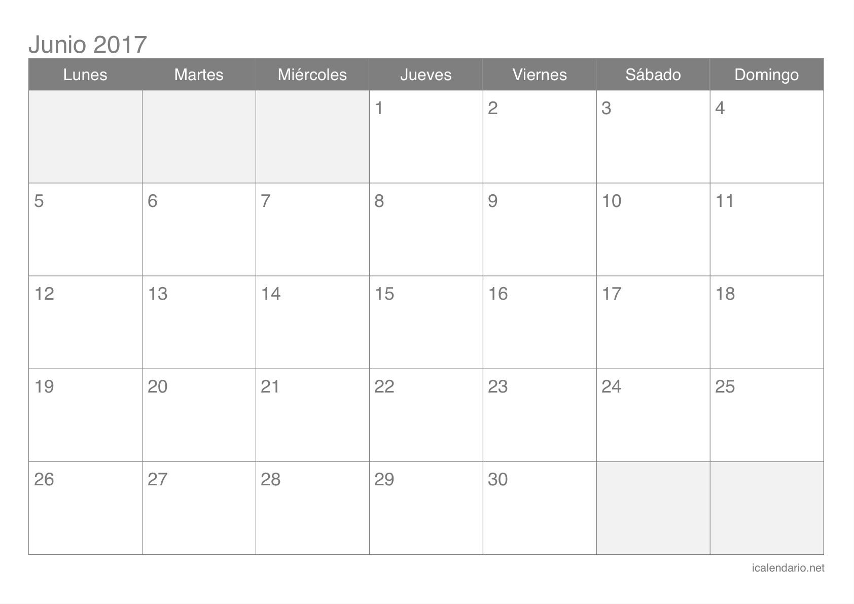 Calendario Junio 2017 Para Imprimir Word Más Reciente Calendario Junio 2017 Para Imprimir Icalendario Of Calendario Junio 2017 Para Imprimir Word Más Reciente Calendario En Blanco 2015 tomburorddiner