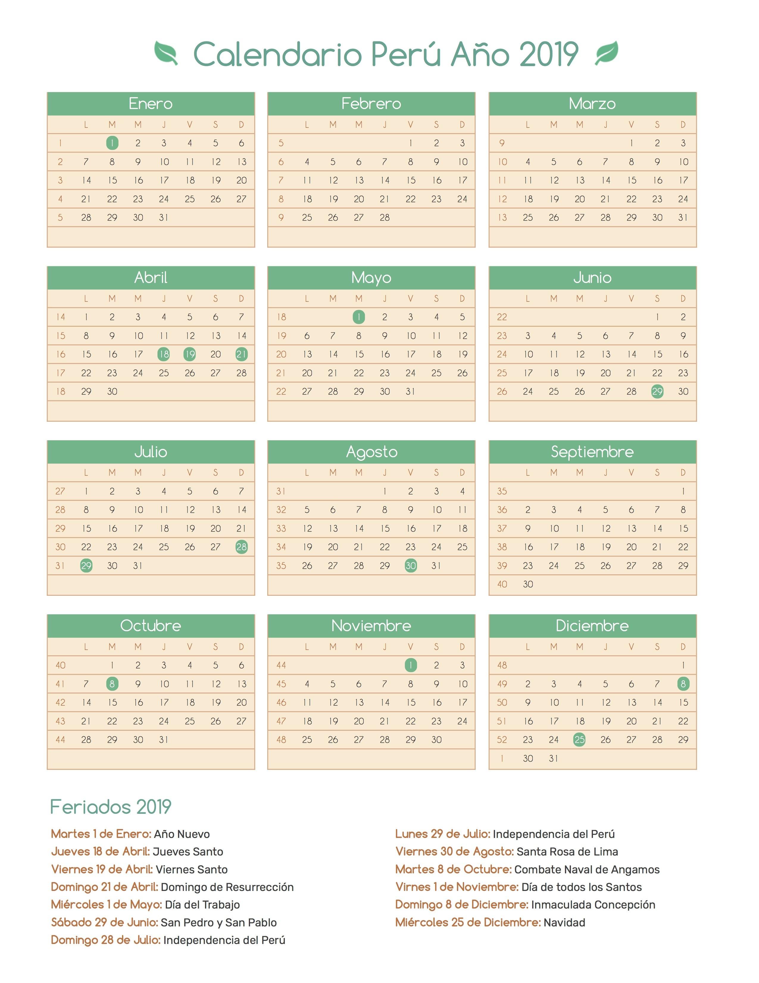 Calendario Lunar Enero 2019 Chile Más Populares Calendario Perº A±o 2019 Of Calendario Lunar Enero 2019 Chile Más Actual Pin De Calendario Hispano En Calendario Con Feriados A±o 2020