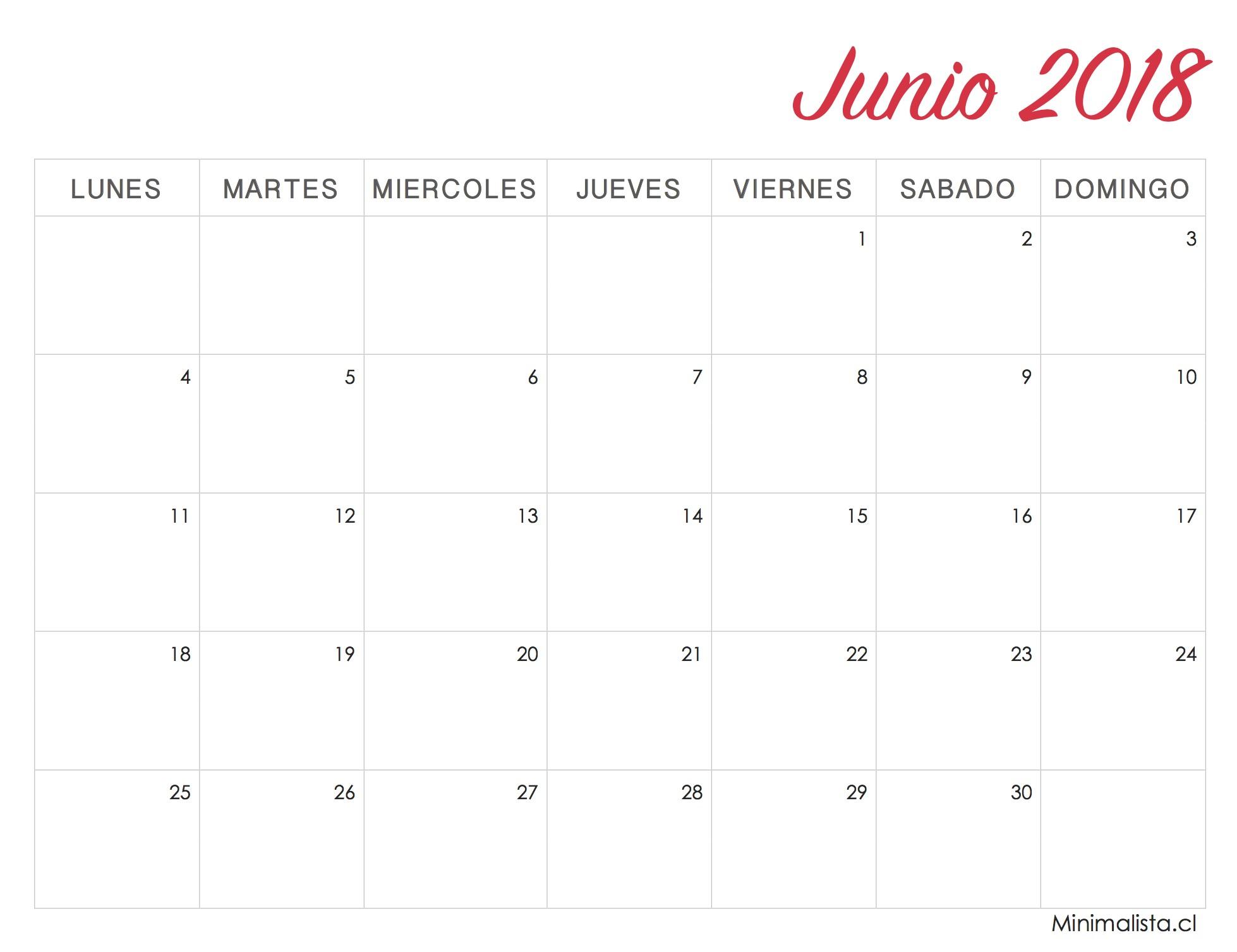 Calendario Mayo 2019 Chile Para Imprimir Más Populares Calendarios 2018 Para Imprimir Minimalista