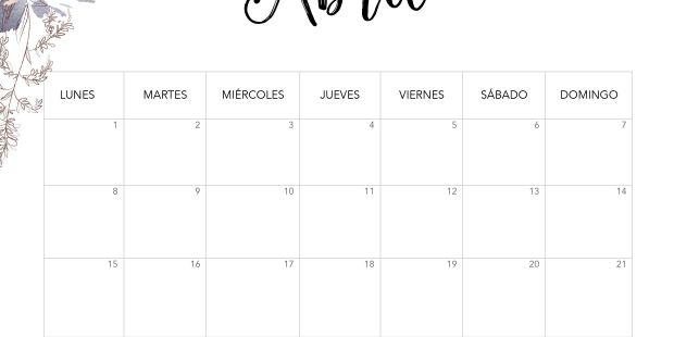 Realmente Esto Calendario Mensual 2019 Para Imprimir Gratis