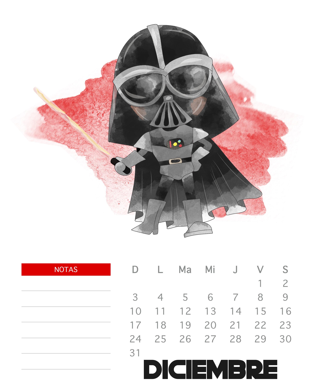 Calendario Mes Diciembre Imprimir Más Arriba-a-fecha 3 Calendarios De Diciembre Para Imprimir A Tus Peques Of Calendario Mes Diciembre Imprimir Más Recientes Imagenes De Calendario 2018