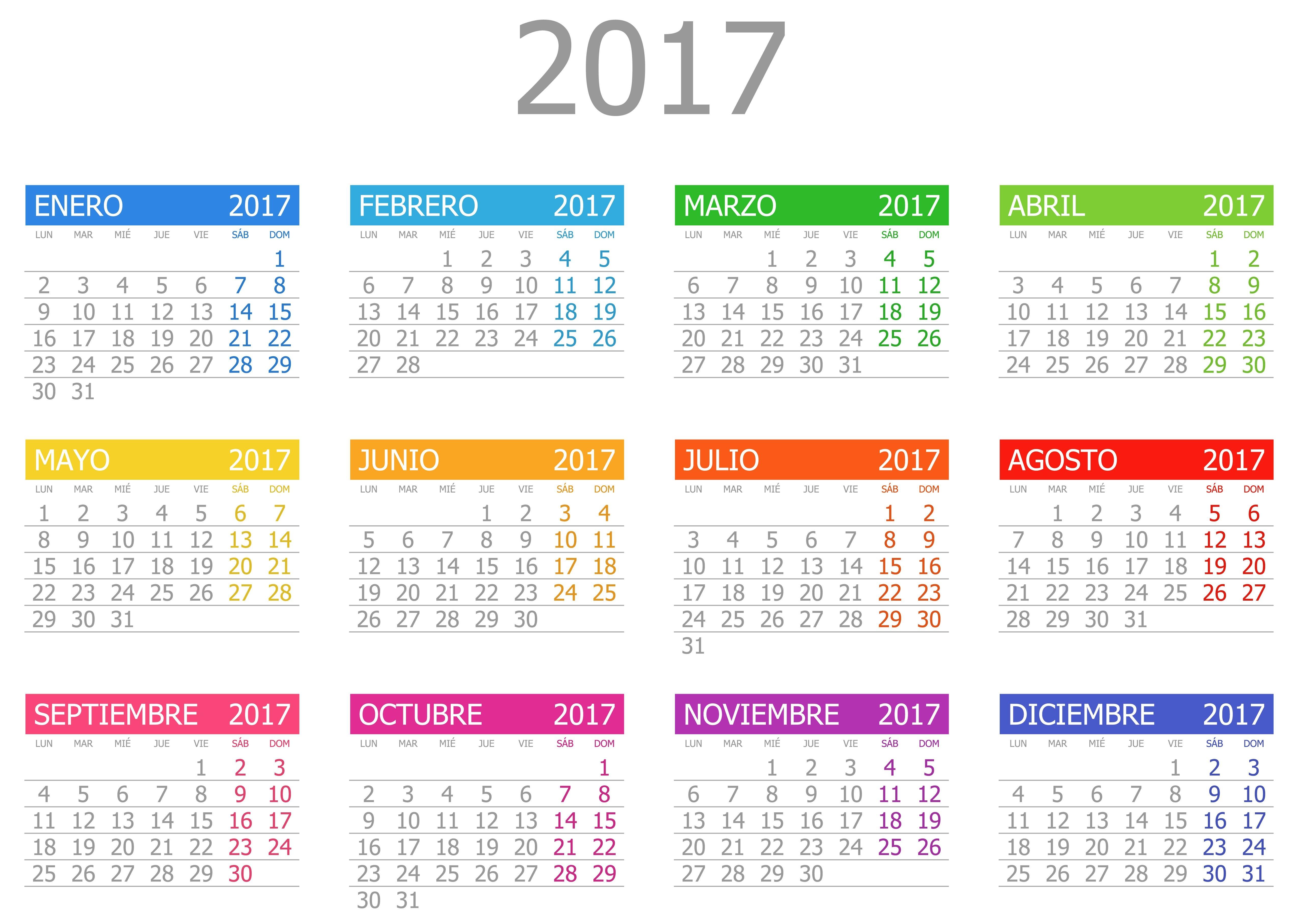 Calendario Para Imprimir 2017 Mes Por Mes Más Populares Calendario En Ingles Para Nios Cul Es Tu Nivel De Ingls Stunning