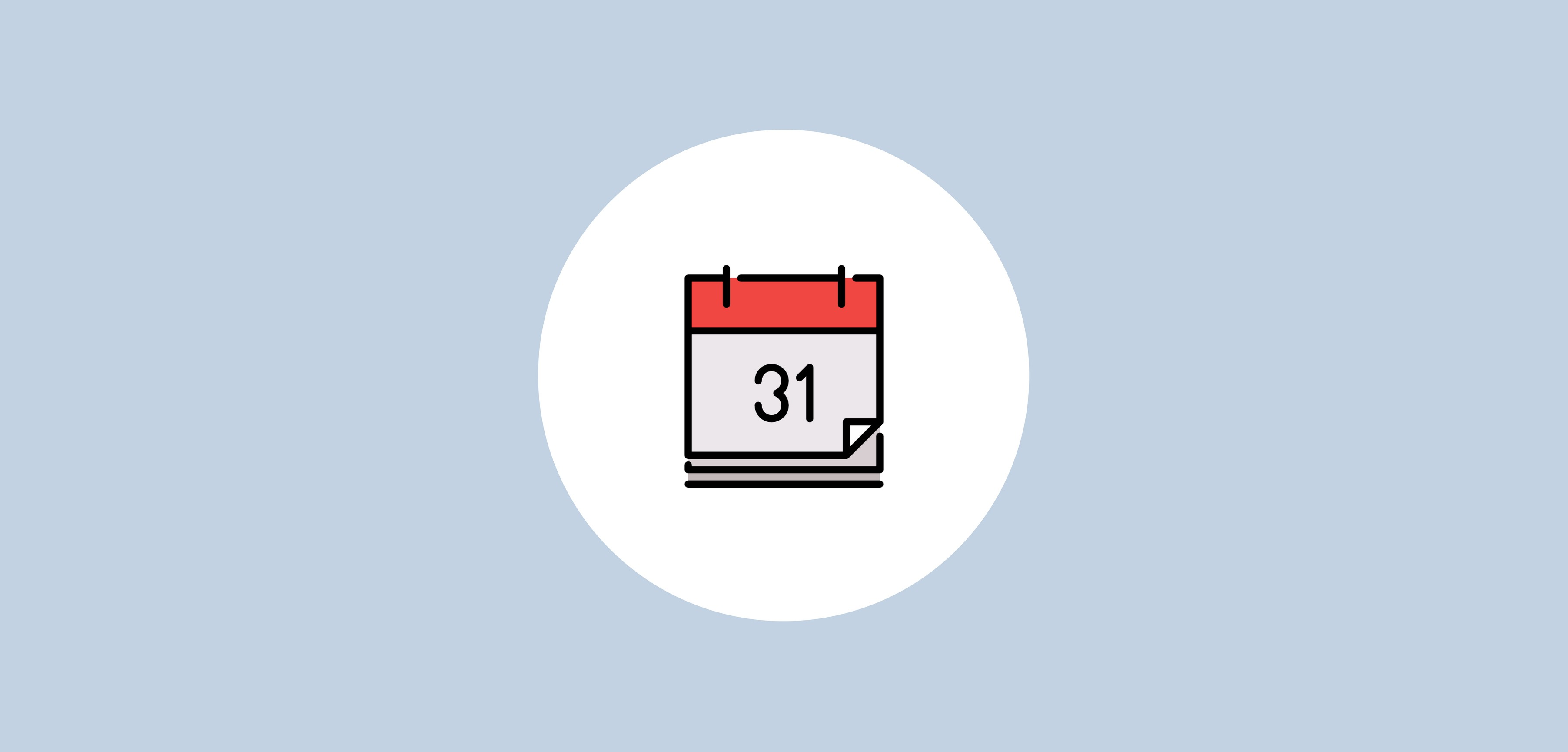 calendario del munity Manager